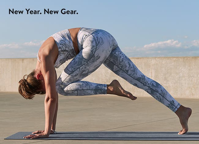 New year. New gear. Workout wear for women.