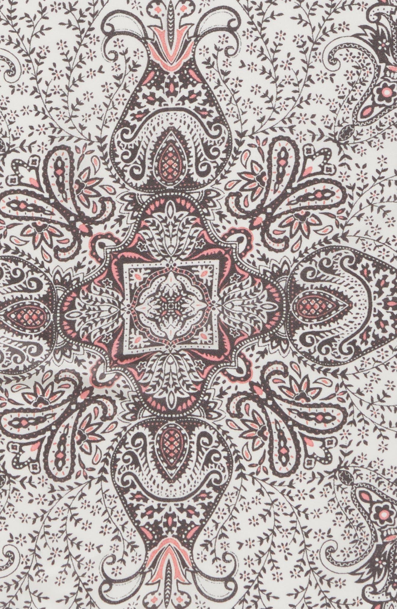 Handkerchief Paisley Silk Scarf,                             Alternate thumbnail 4, color,                             250