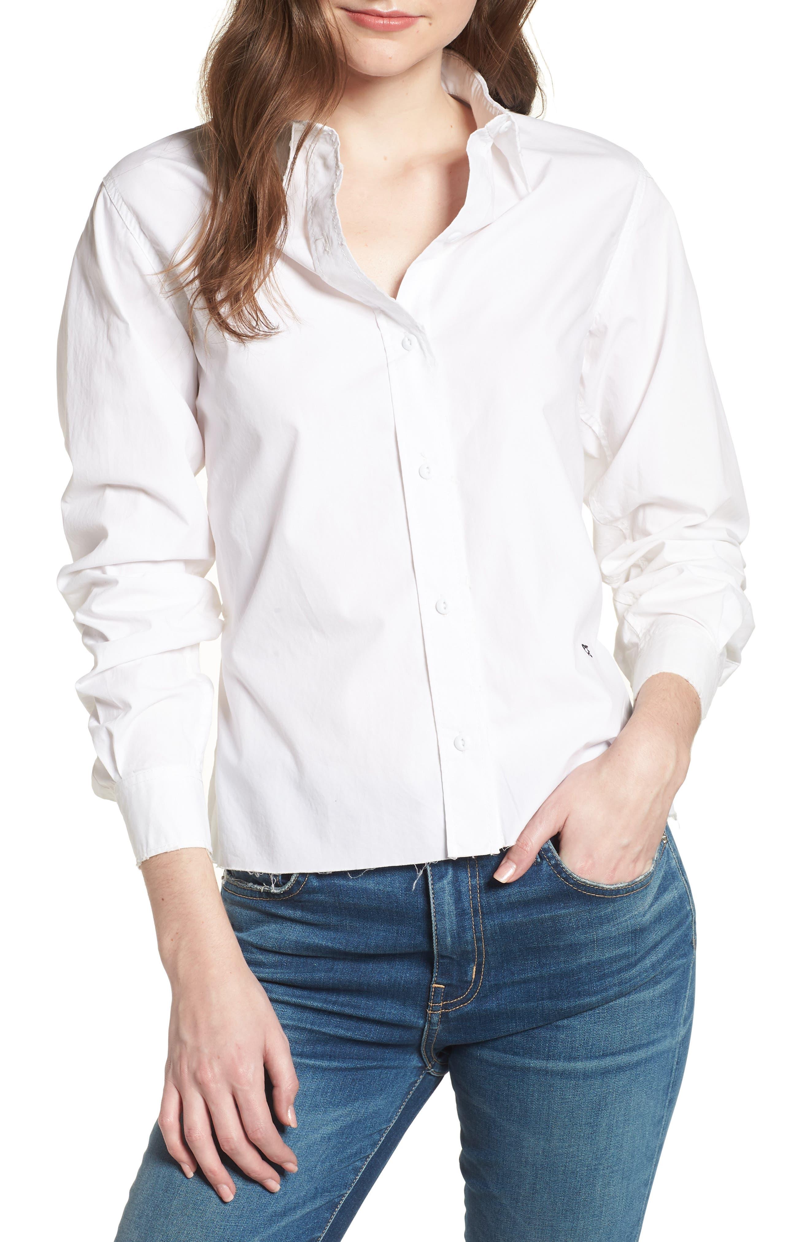 The Des Tie Back Shirt,                         Main,                         color,