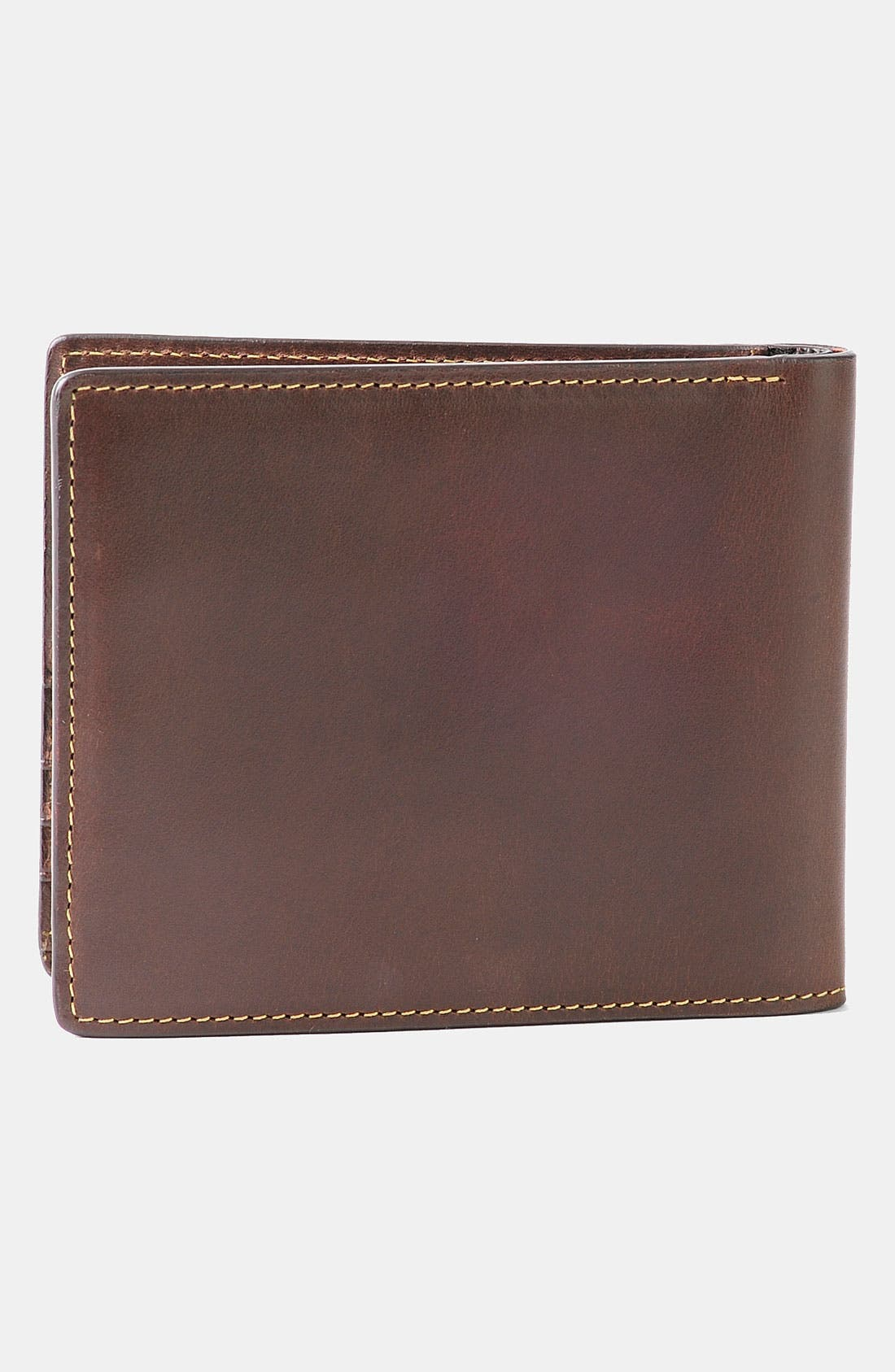 'Bryant' RFID Blocker Slimfold Wallet,                             Alternate thumbnail 4, color,                             ANTIQUE MAHOGANY