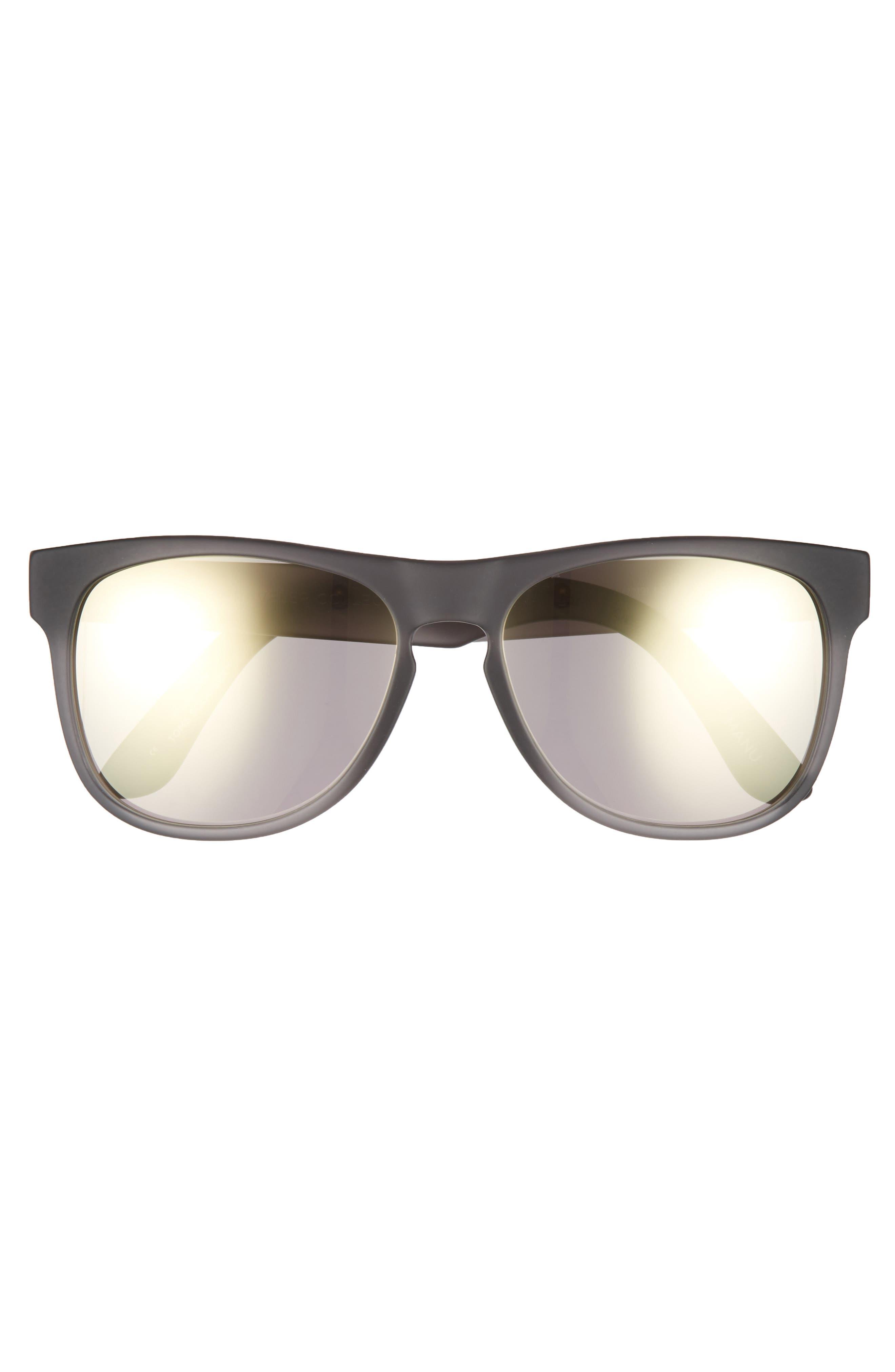 Manu 57mm Sunglasses,                             Alternate thumbnail 2, color,                             PEWTER