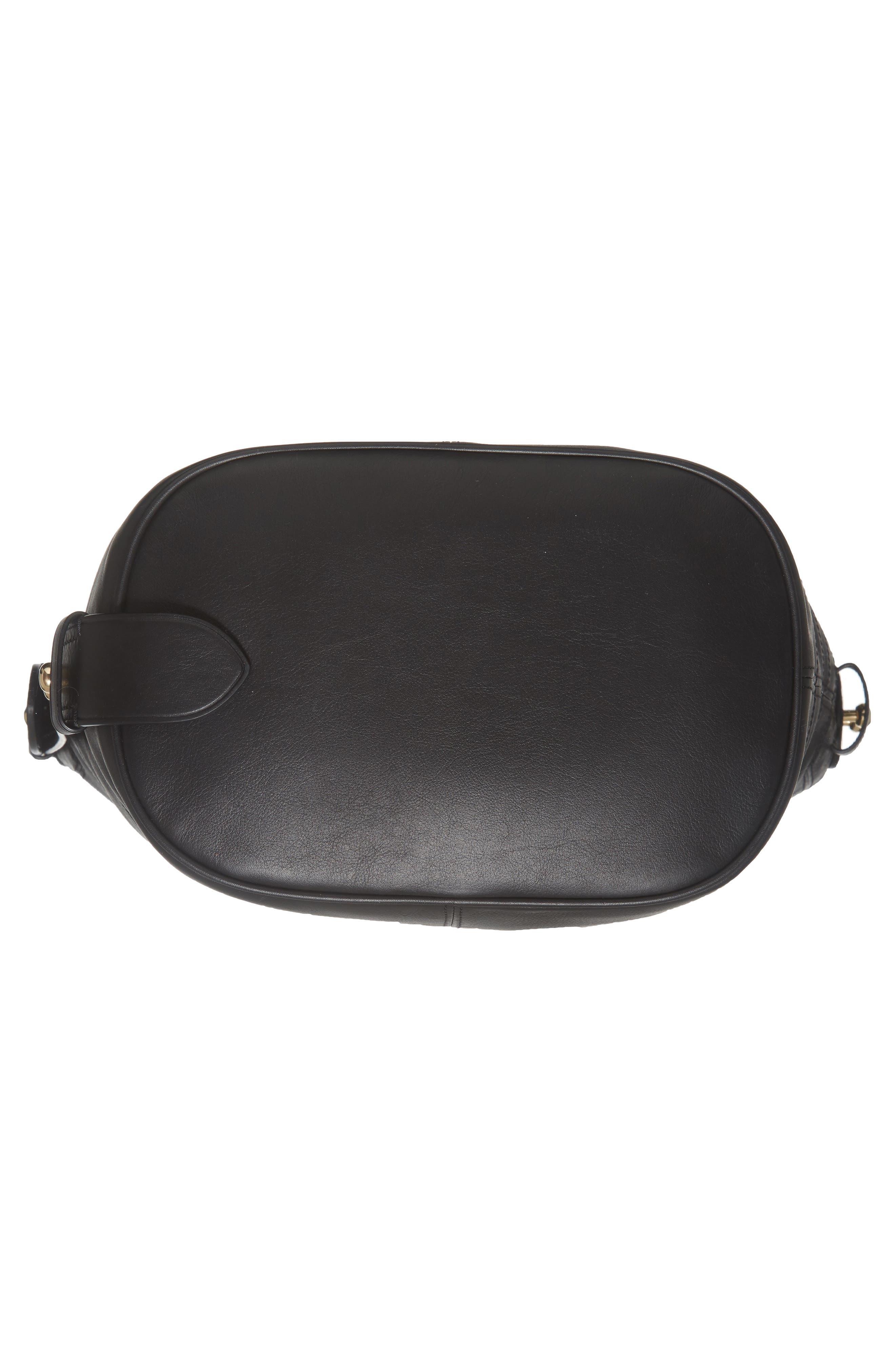 The Sling Mod Leather Hobo/Crossbody/Sling Bag,                             Alternate thumbnail 6, color,                             001