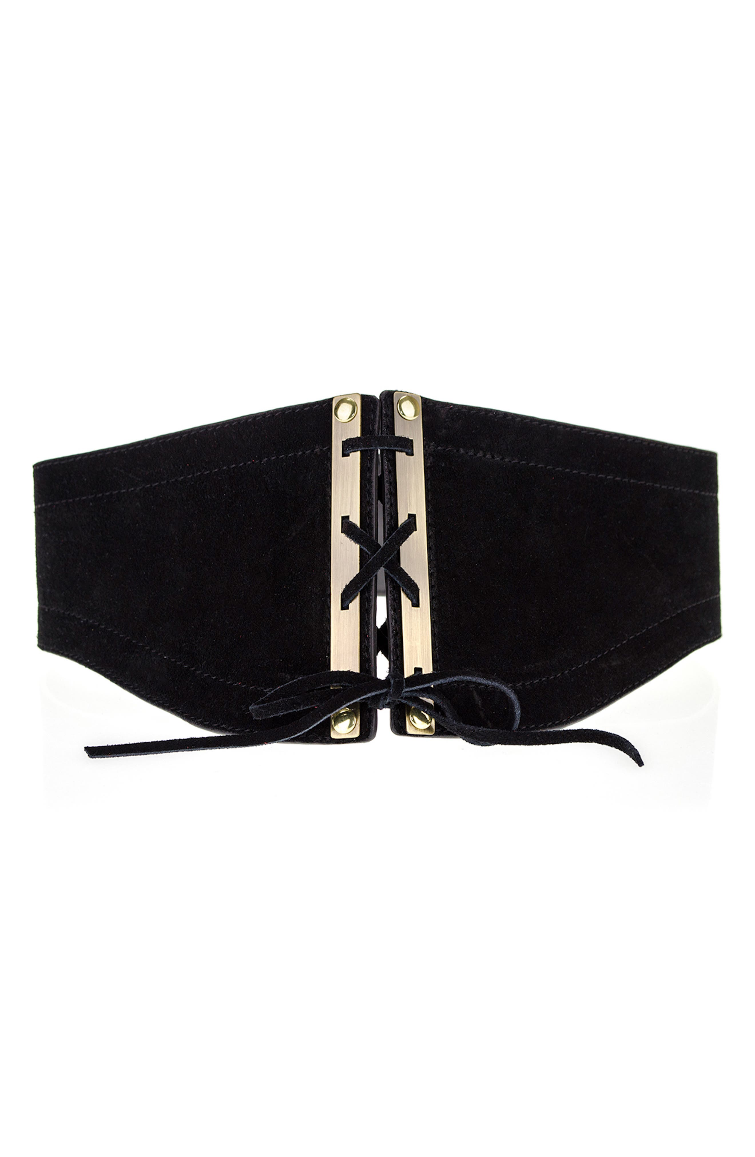 Roxy Corset Belt,                         Main,                         color, 001