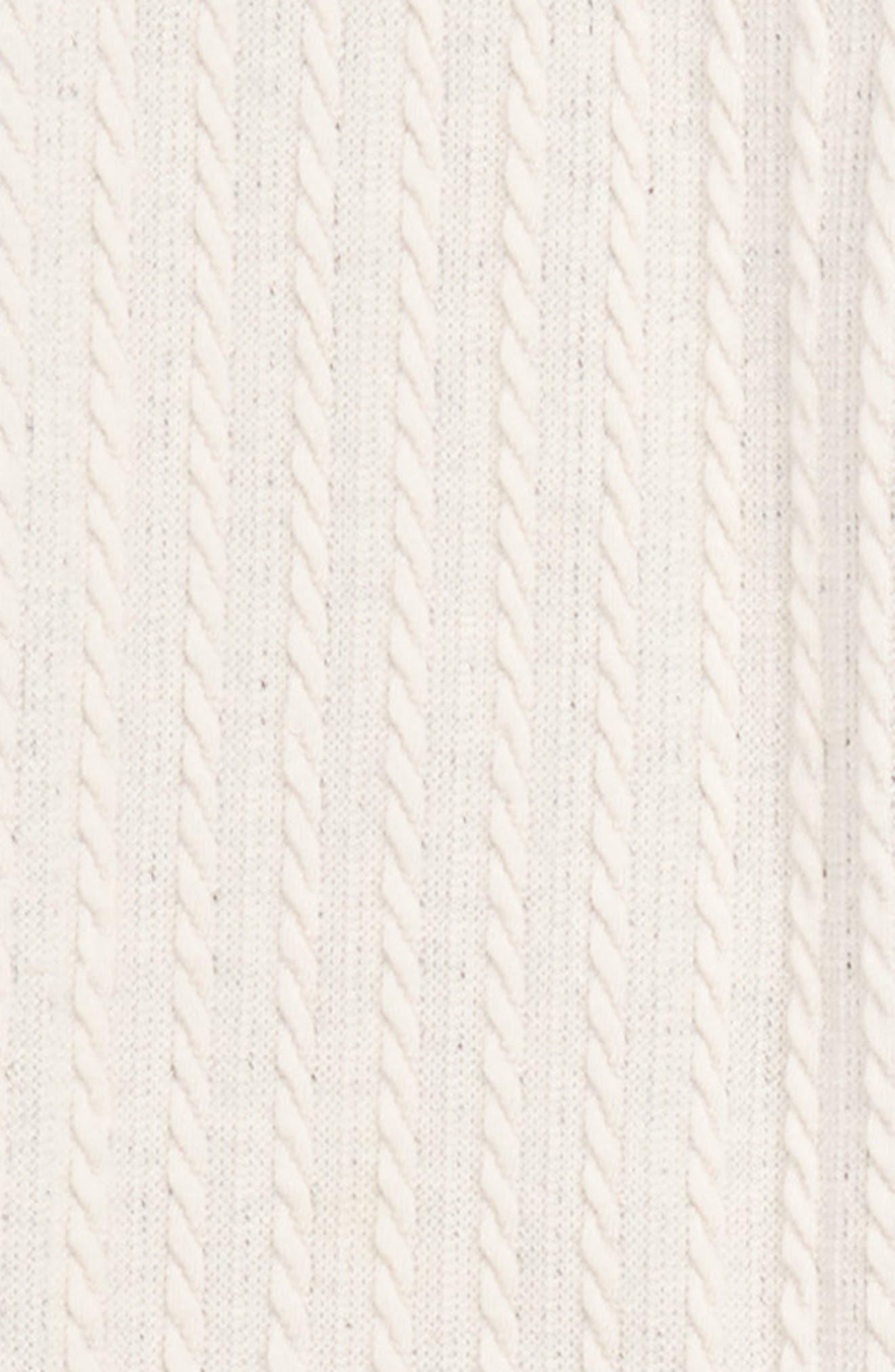 Cable Knit Leggings,                             Alternate thumbnail 12, color,
