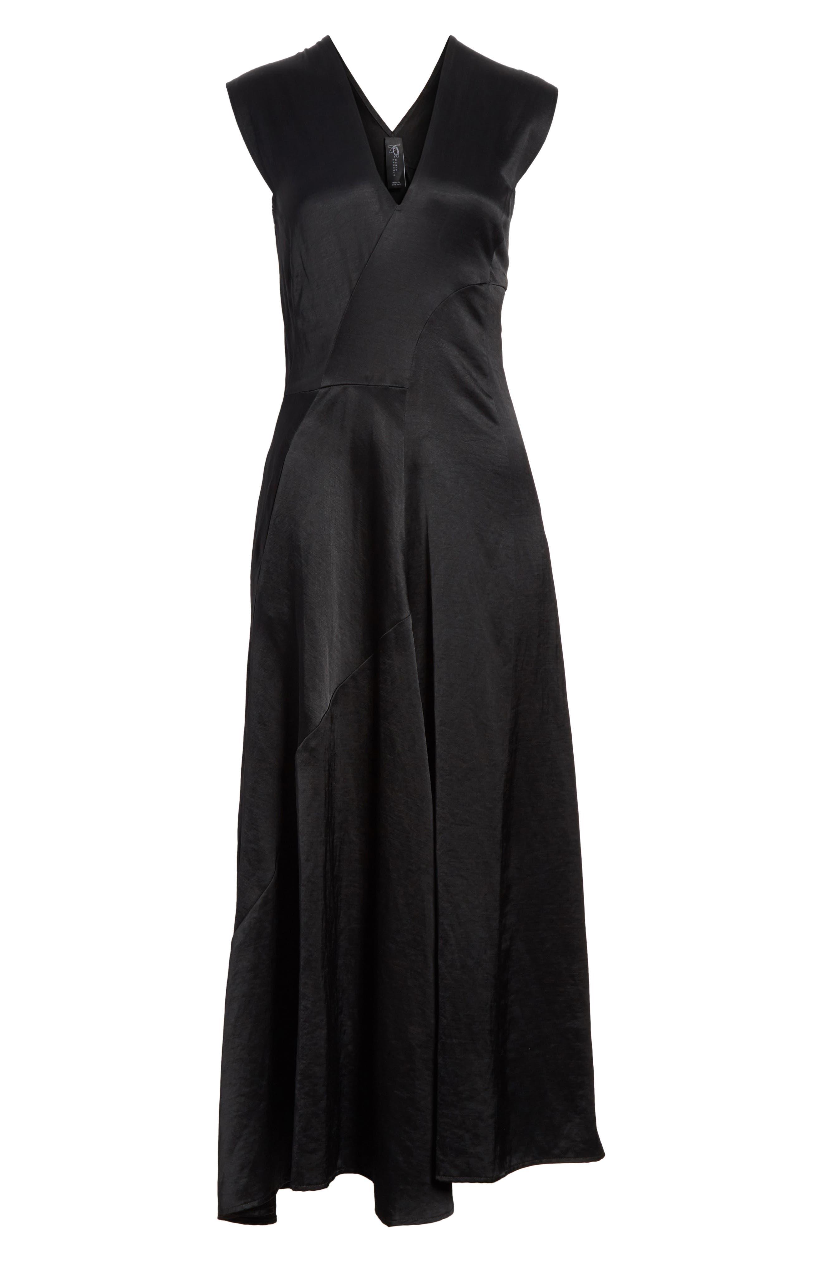Eve Mosa Midi Dress,                             Alternate thumbnail 6, color,