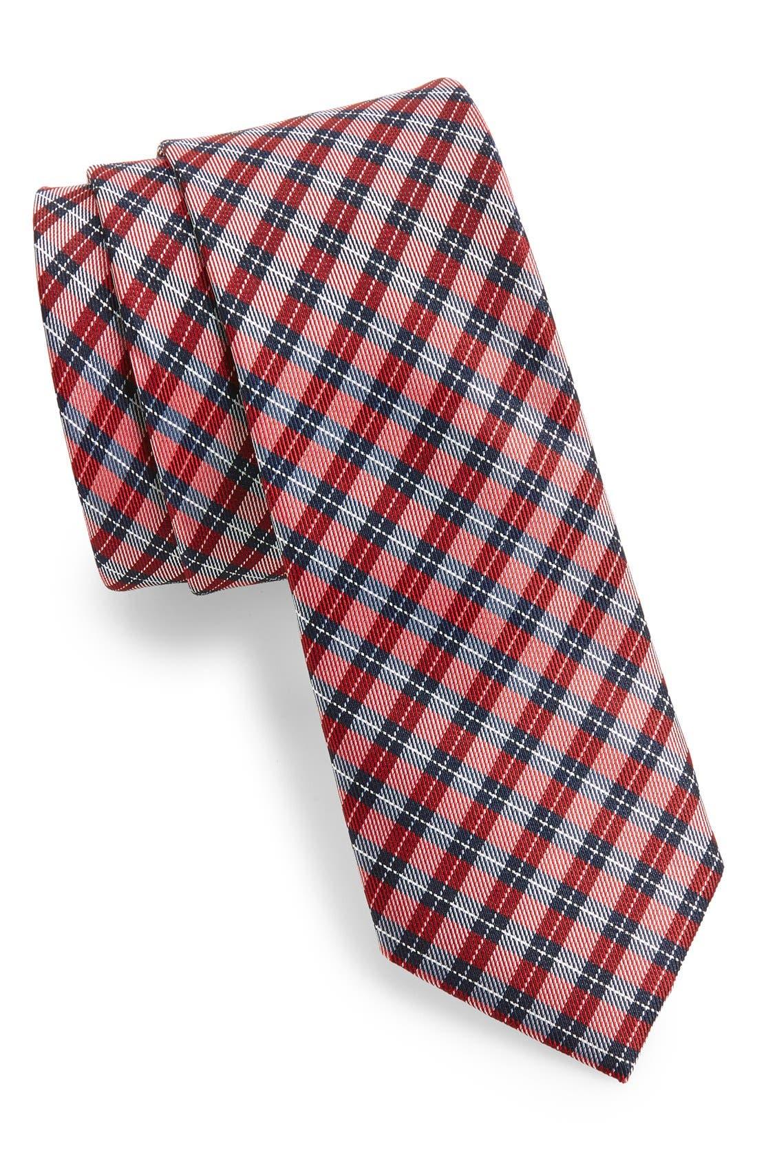 'Choi' Woven Silk Tie,                             Main thumbnail 2, color,
