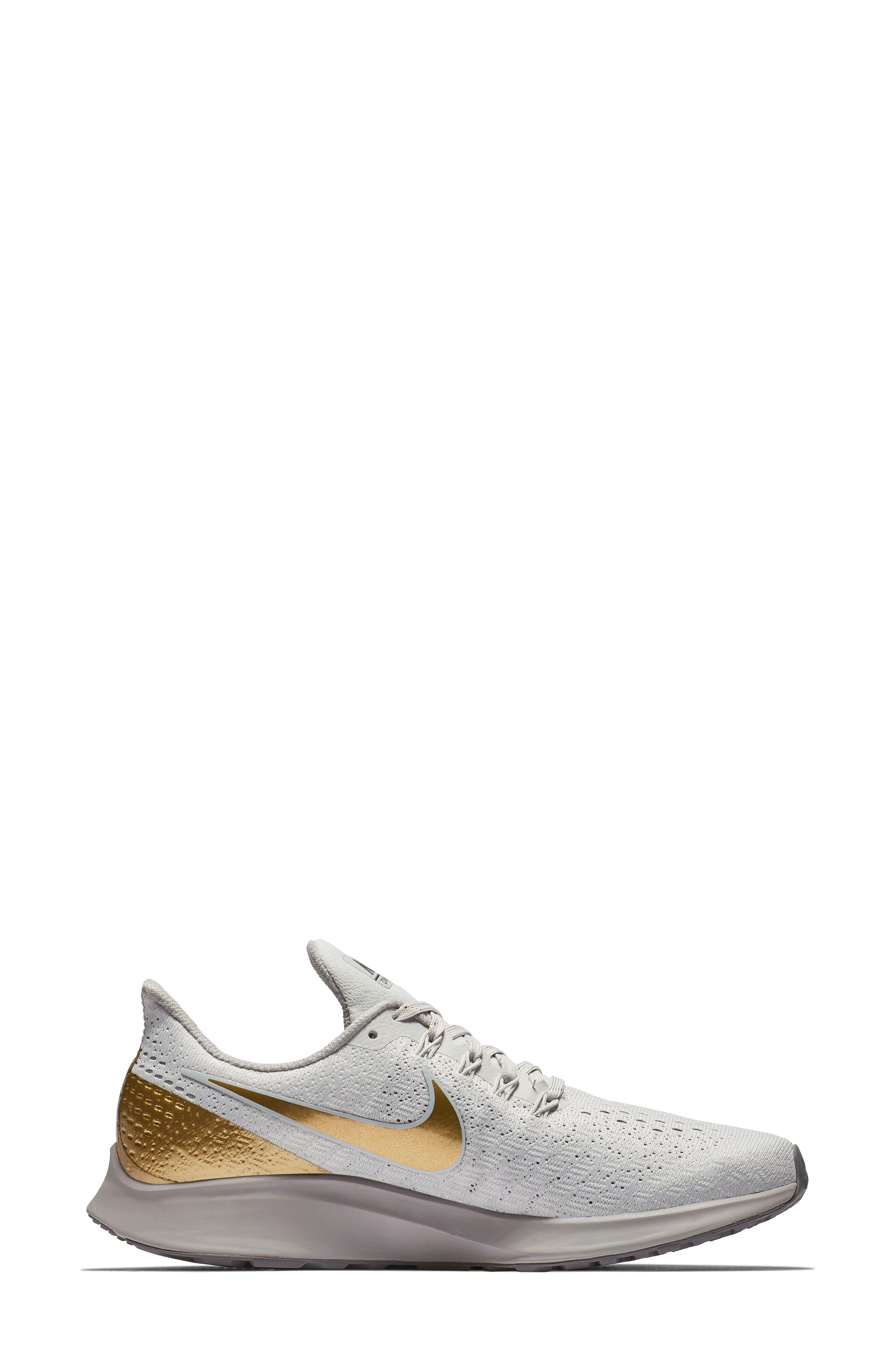 Air Zoom Pegasus 35 Premium Running Shoe,                             Alternate thumbnail 3, color,                             022