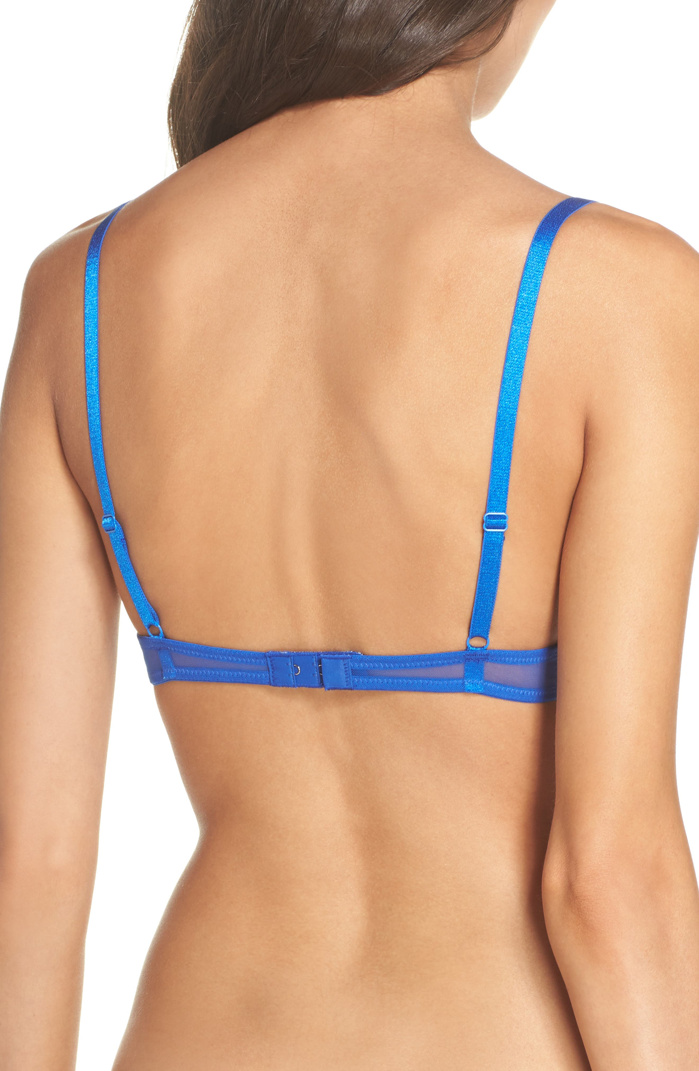 Intimately FP Mesh Underwire Bra,                             Alternate thumbnail 7, color,