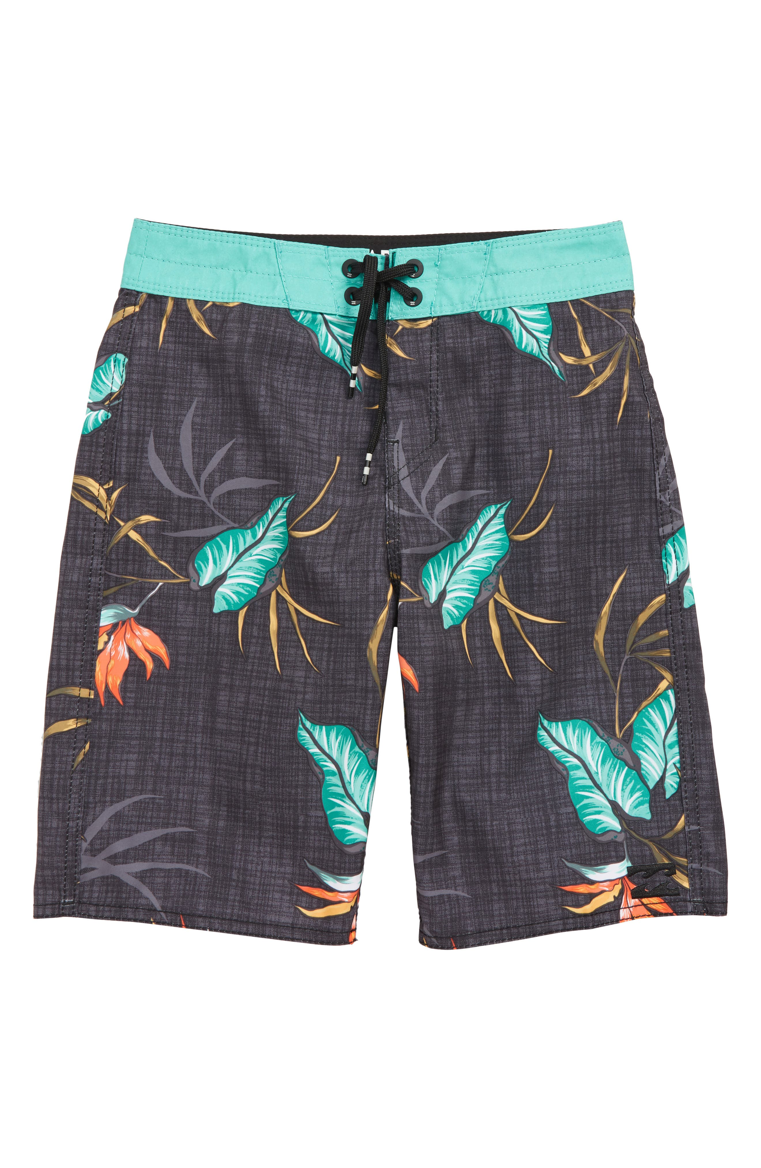 Sundays Board Shorts,                             Main thumbnail 1, color,                             BLACK MULTI