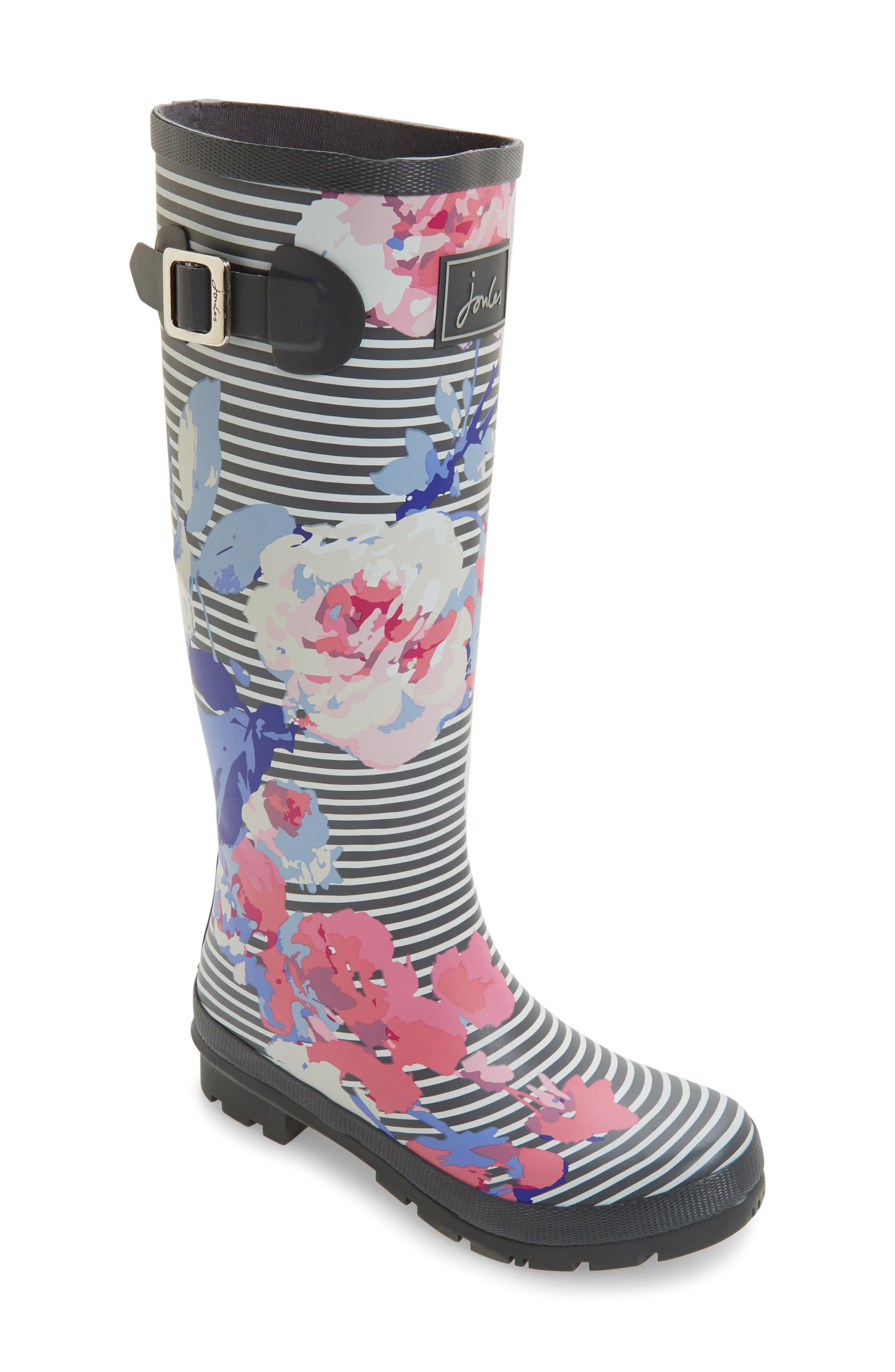 'Welly' Print Rain Boot,                             Main thumbnail 31, color,