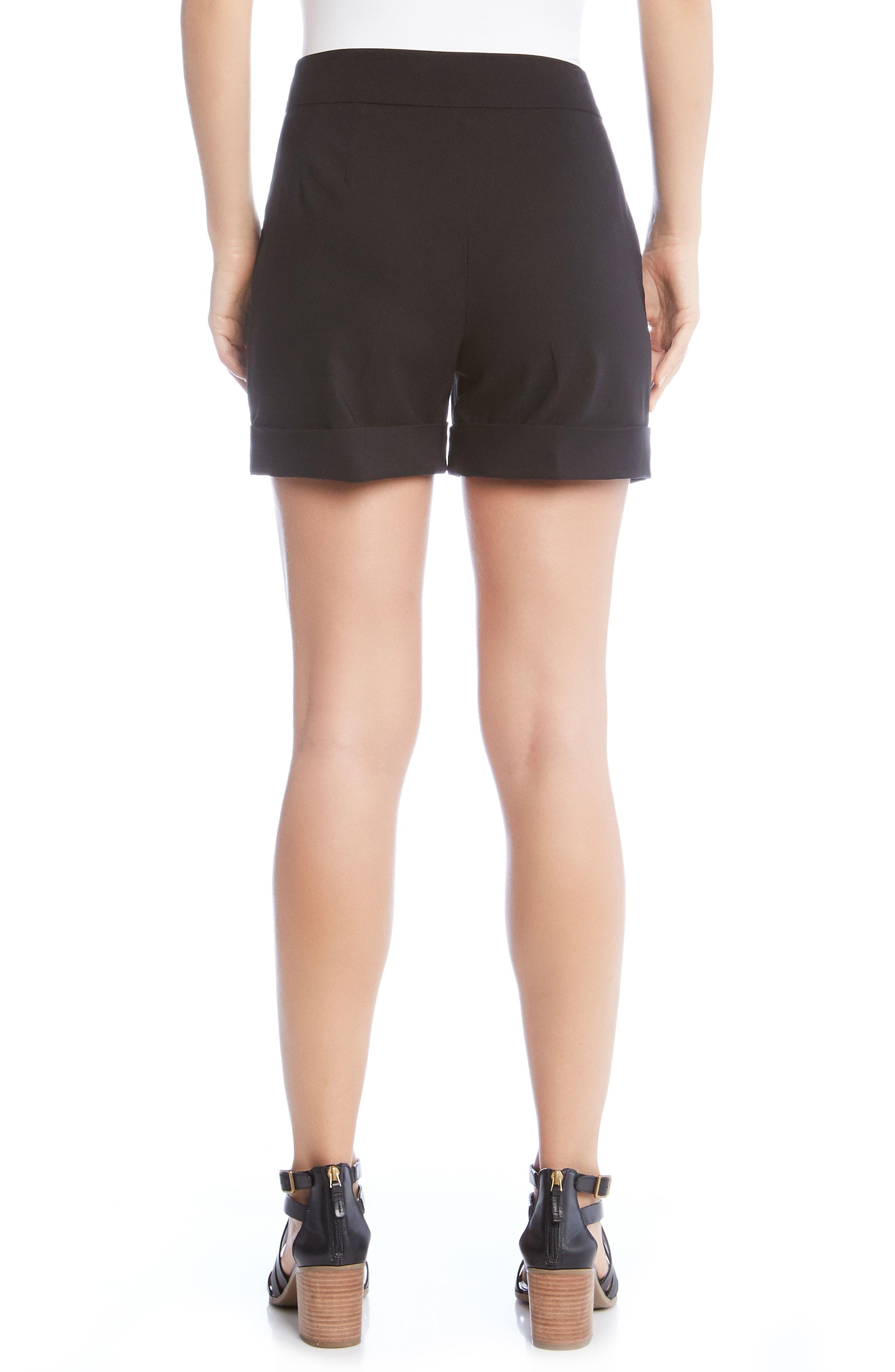 Cuff Shorts,                             Alternate thumbnail 2, color,                             001