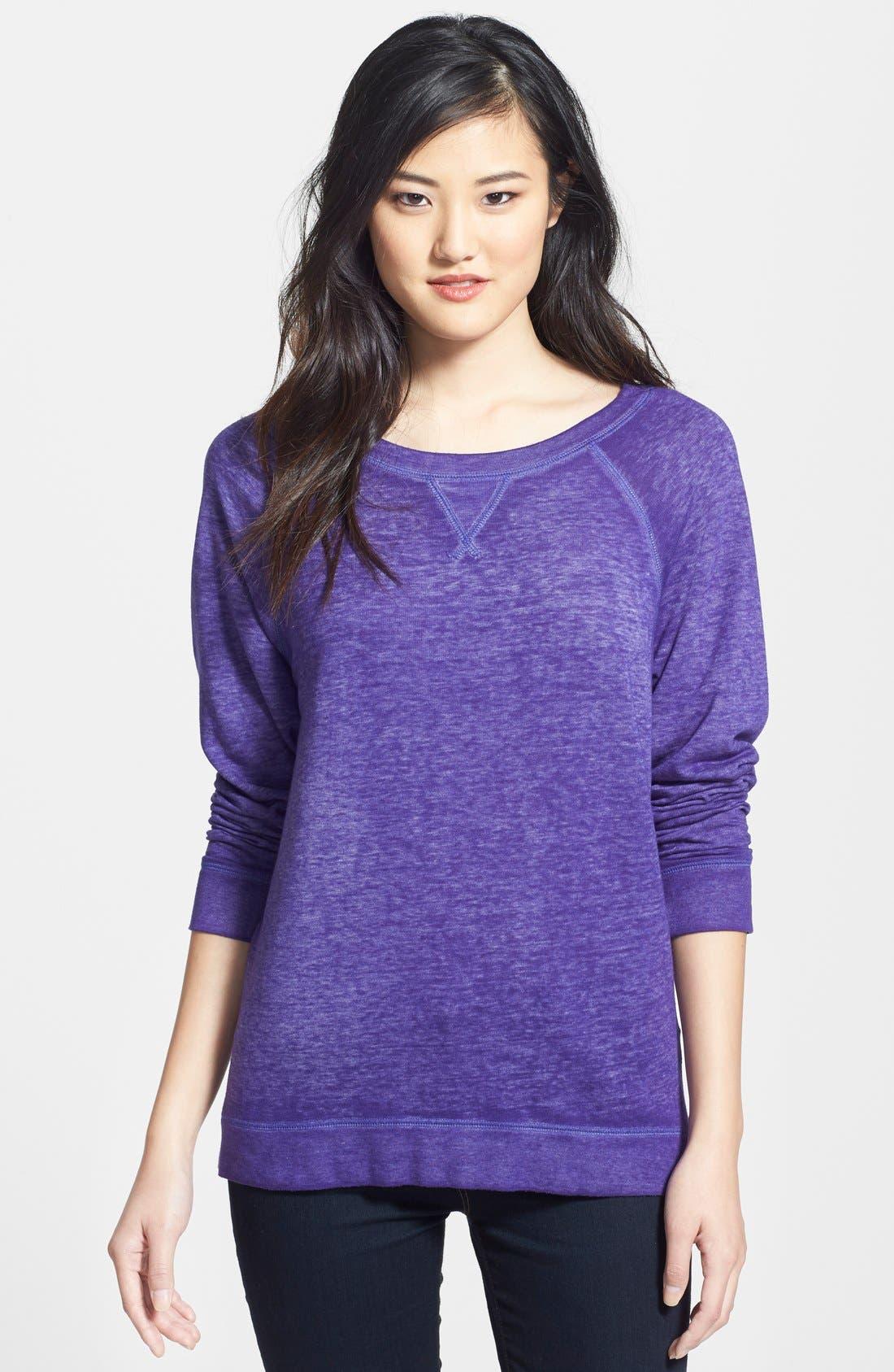Burnout Sweatshirt,                             Main thumbnail 9, color,