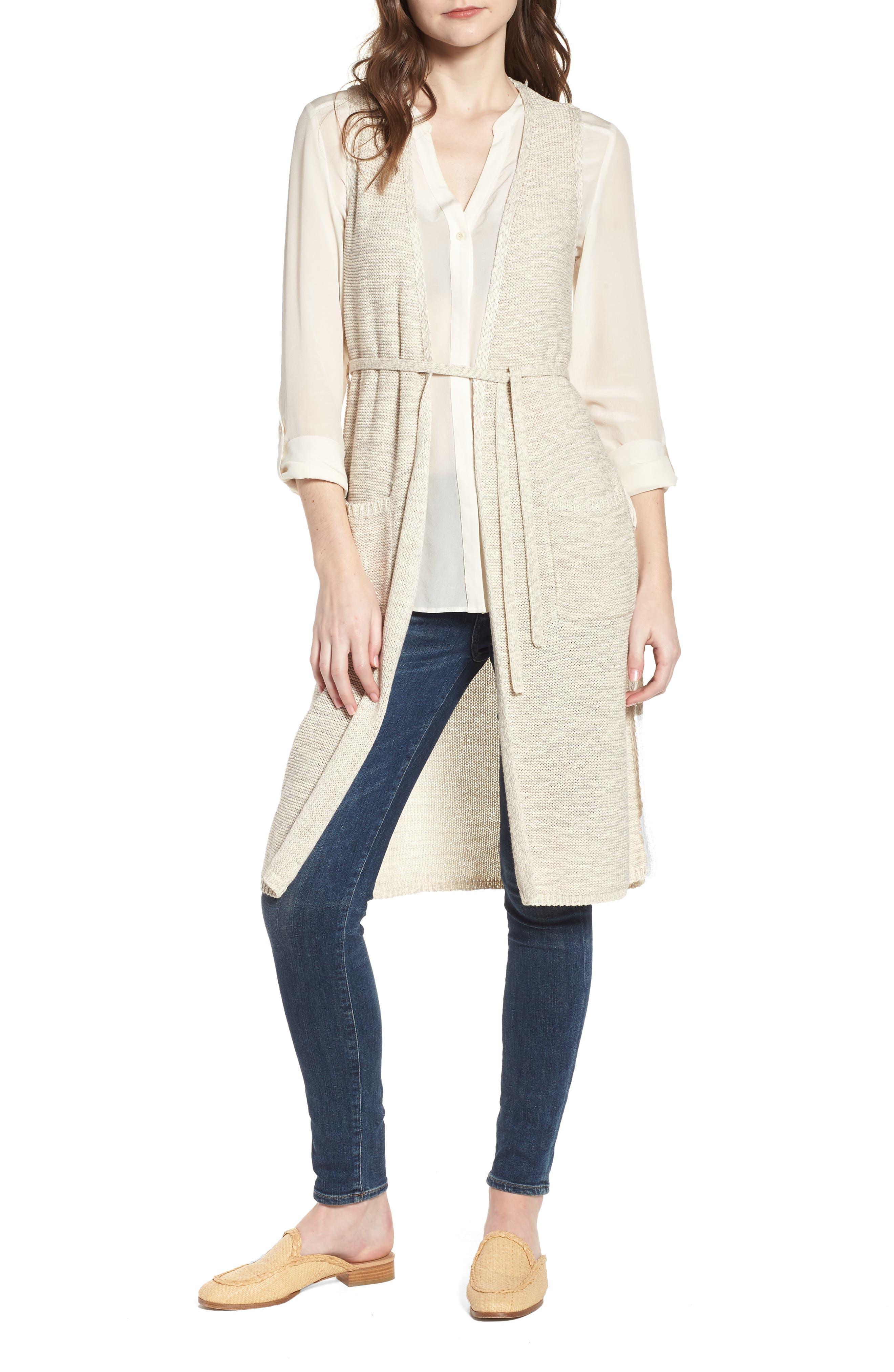 Achava Sweater Vest,                         Main,                         color, NATURAL