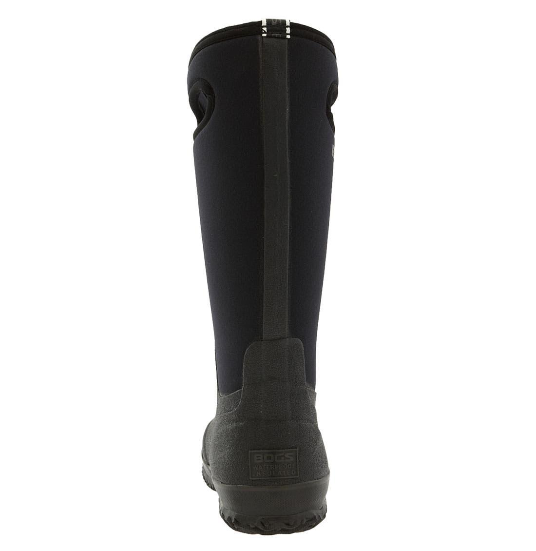 'Classic' Tall Rain Boot,                             Alternate thumbnail 3, color,                             001