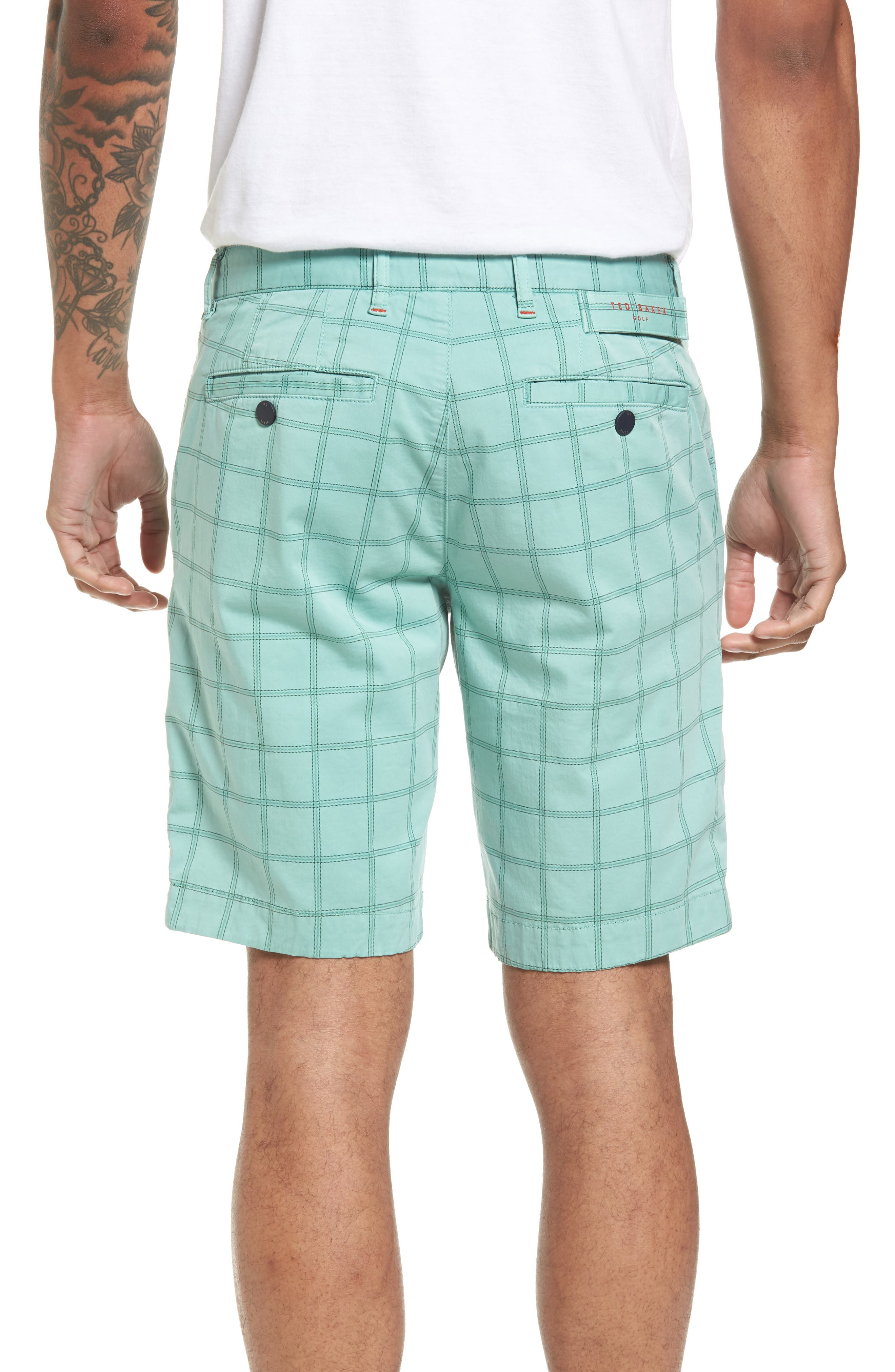 Golfshr Print Golf Shorts,                             Alternate thumbnail 4, color,
