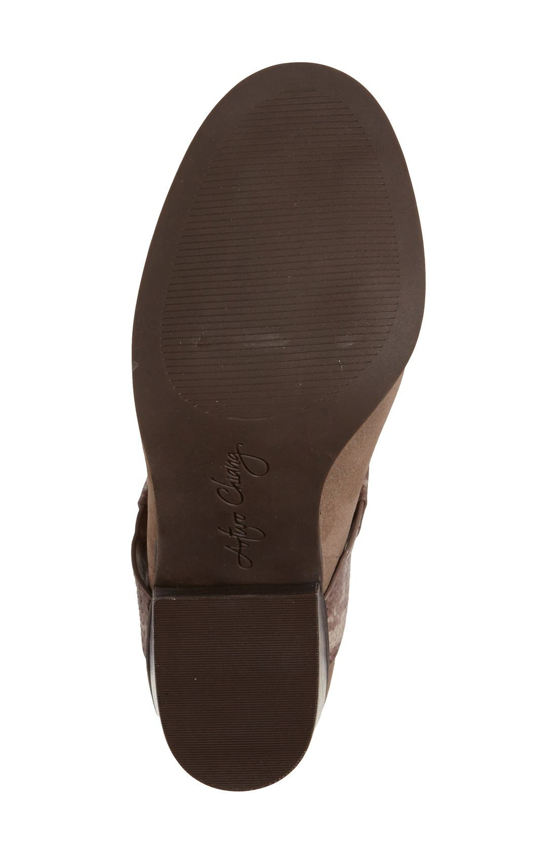 'Caraleigh' Peep Toe Bootie,                             Alternate thumbnail 4, color,                             741