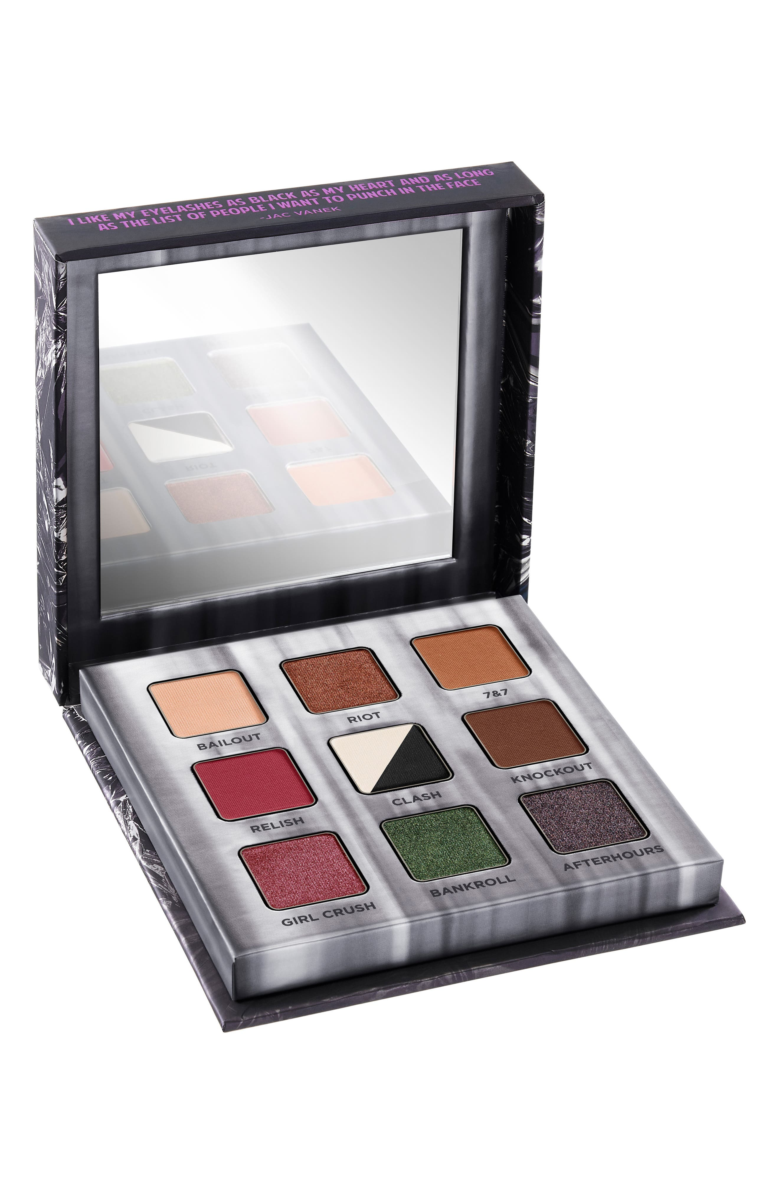 Troublemaker Eyeshadow Palette,                             Alternate thumbnail 2, color,                             000