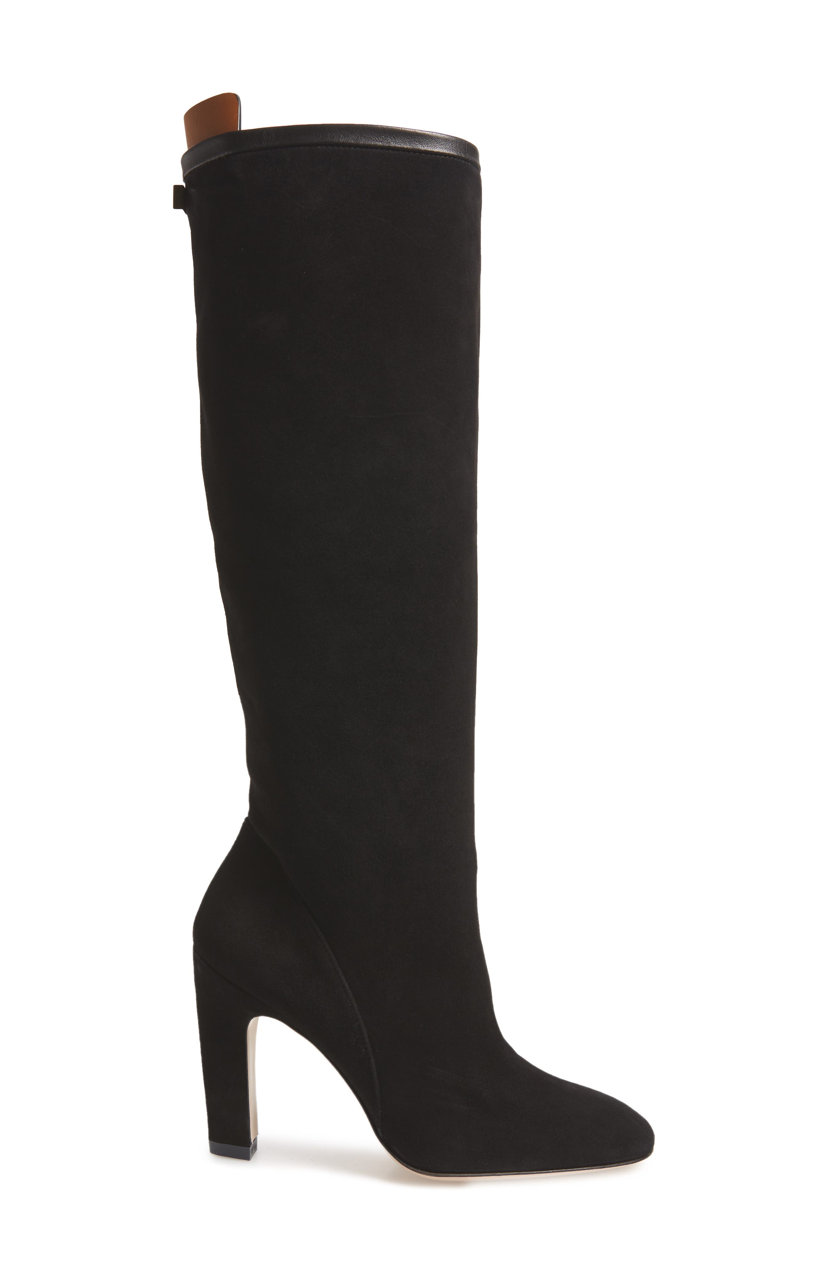 Charlie Knee High Boot,                             Alternate thumbnail 3, color,                             002