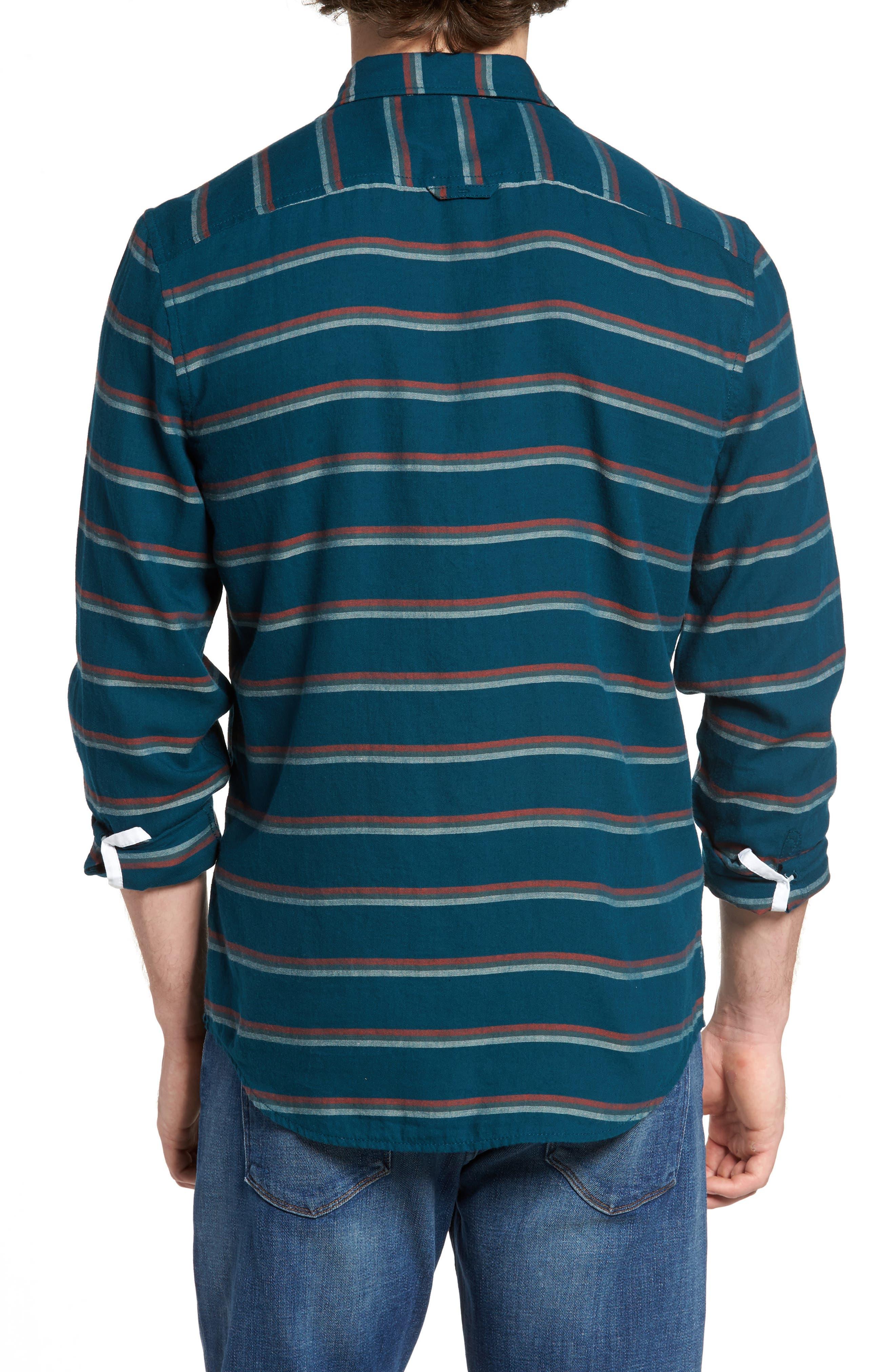 Stripe Twill Shirt,                             Alternate thumbnail 4, color,