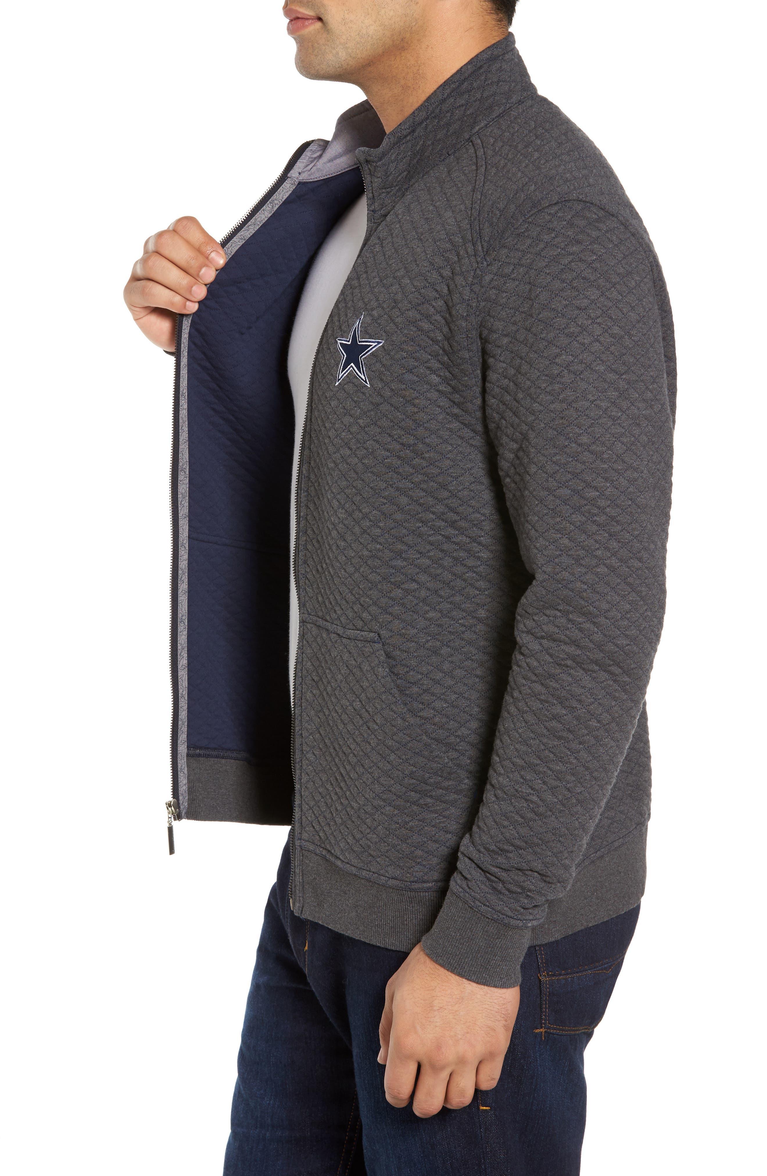 NFL Quiltessential Full Zip Sweatshirt,                             Alternate thumbnail 74, color,
