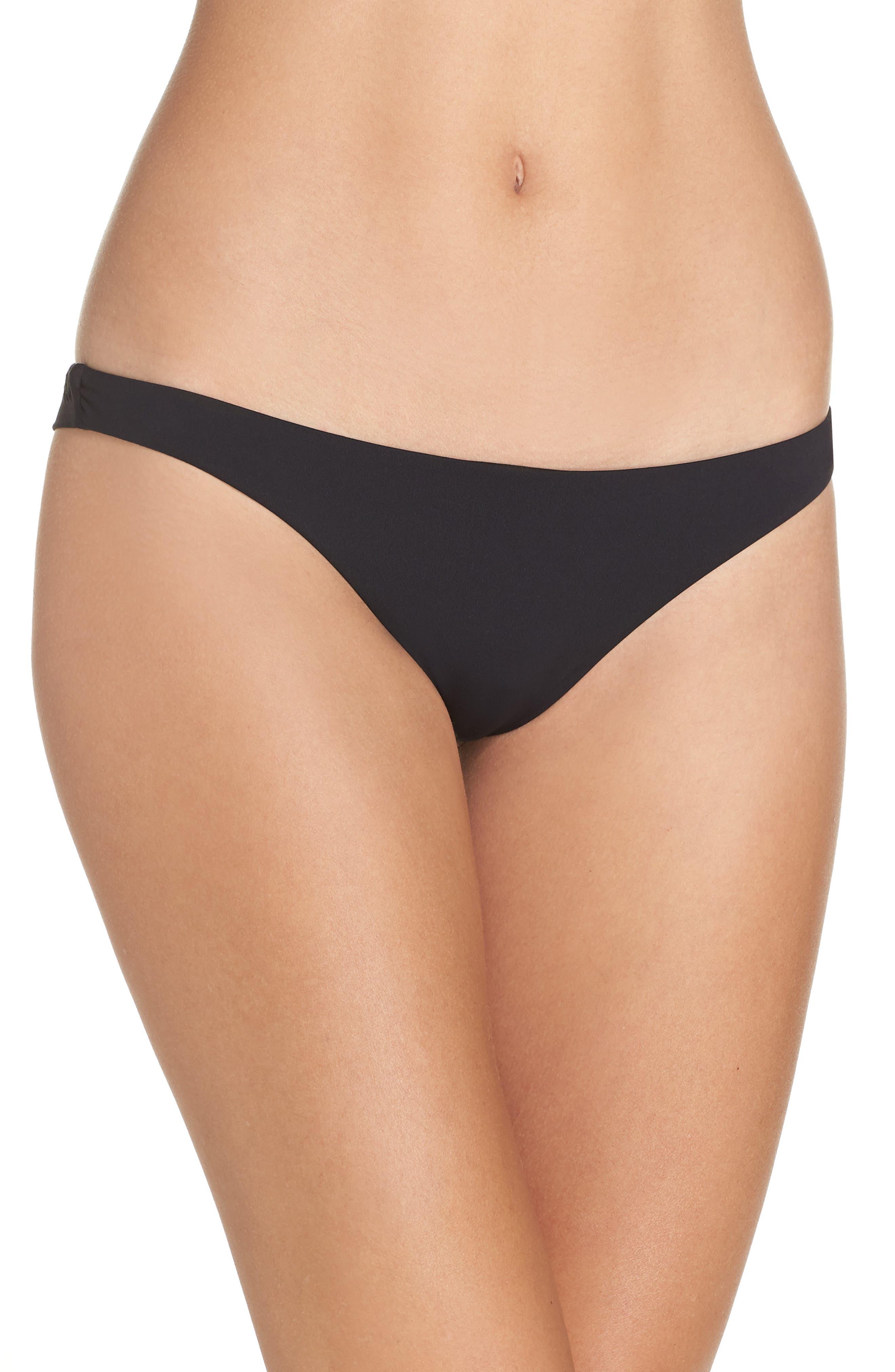 Sol Searcher Tanga Cheeky Bikini Bottom,                         Main,                         color, 001