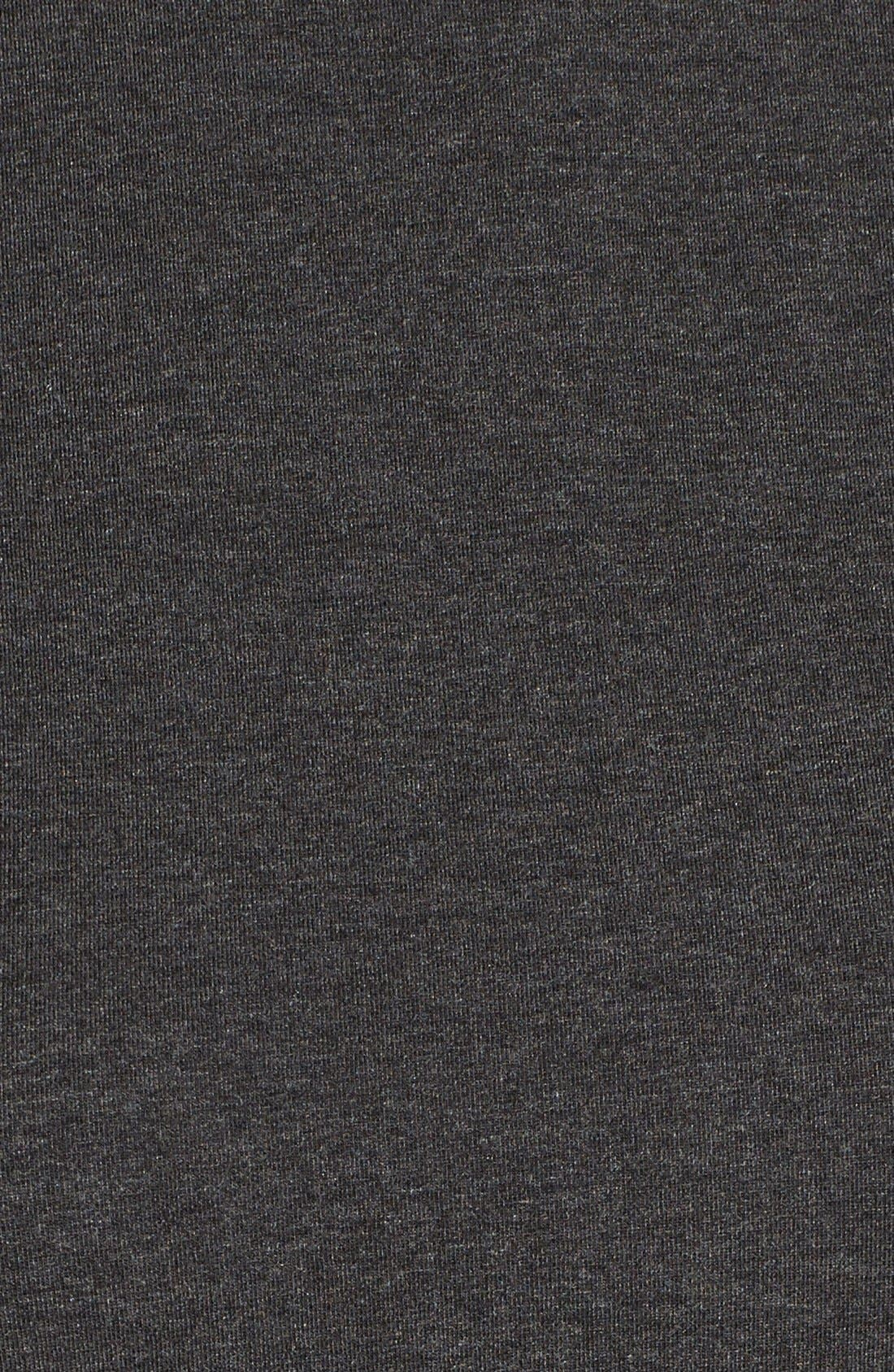 EILEEN FISHER,                             Lightweight Tencel<sup>®</sup> Lyocell Stretch Jersey Top,                             Alternate thumbnail 5, color,                             001