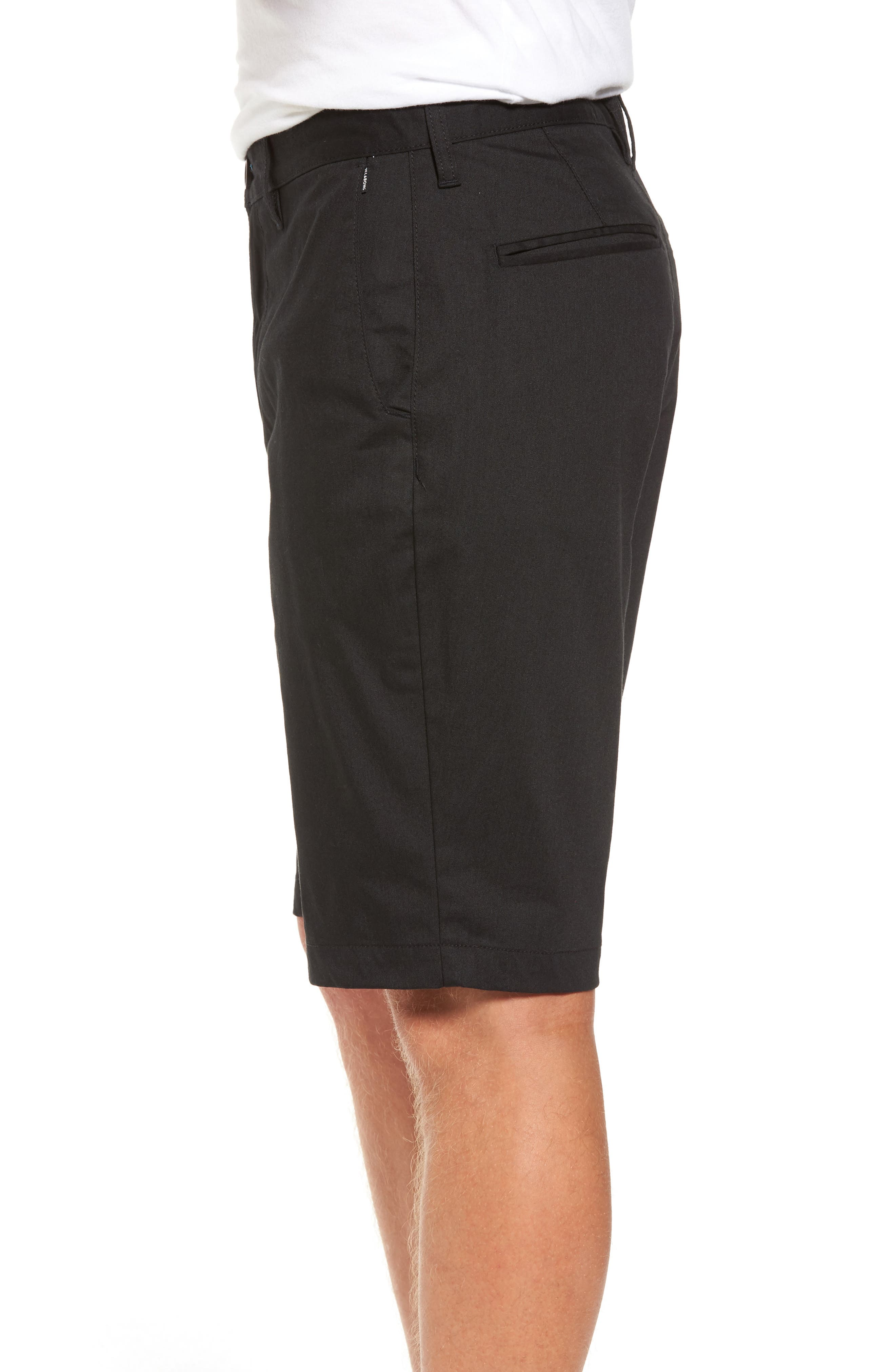 Carter Stretch Twill Shorts,                             Alternate thumbnail 3, color,                             002