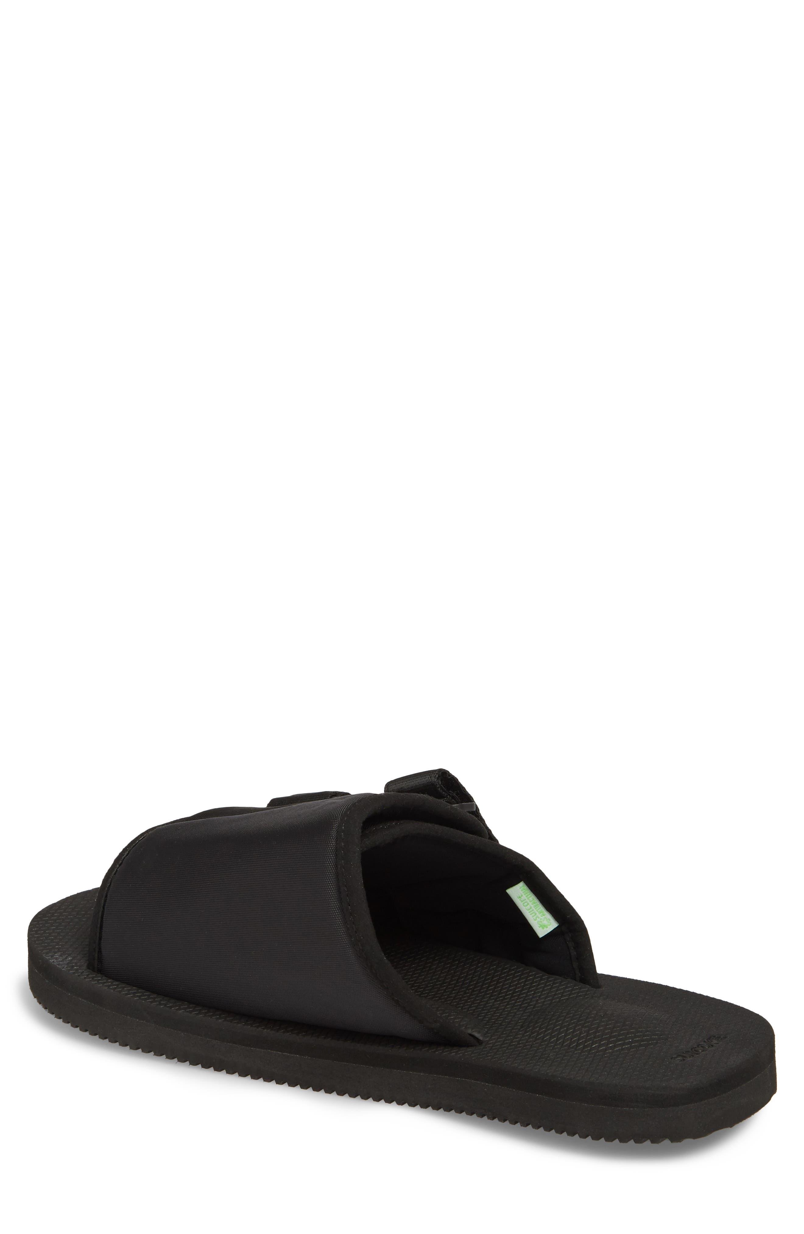 Kaw Cab Slide Sandal,                             Alternate thumbnail 2, color,                             BLACK