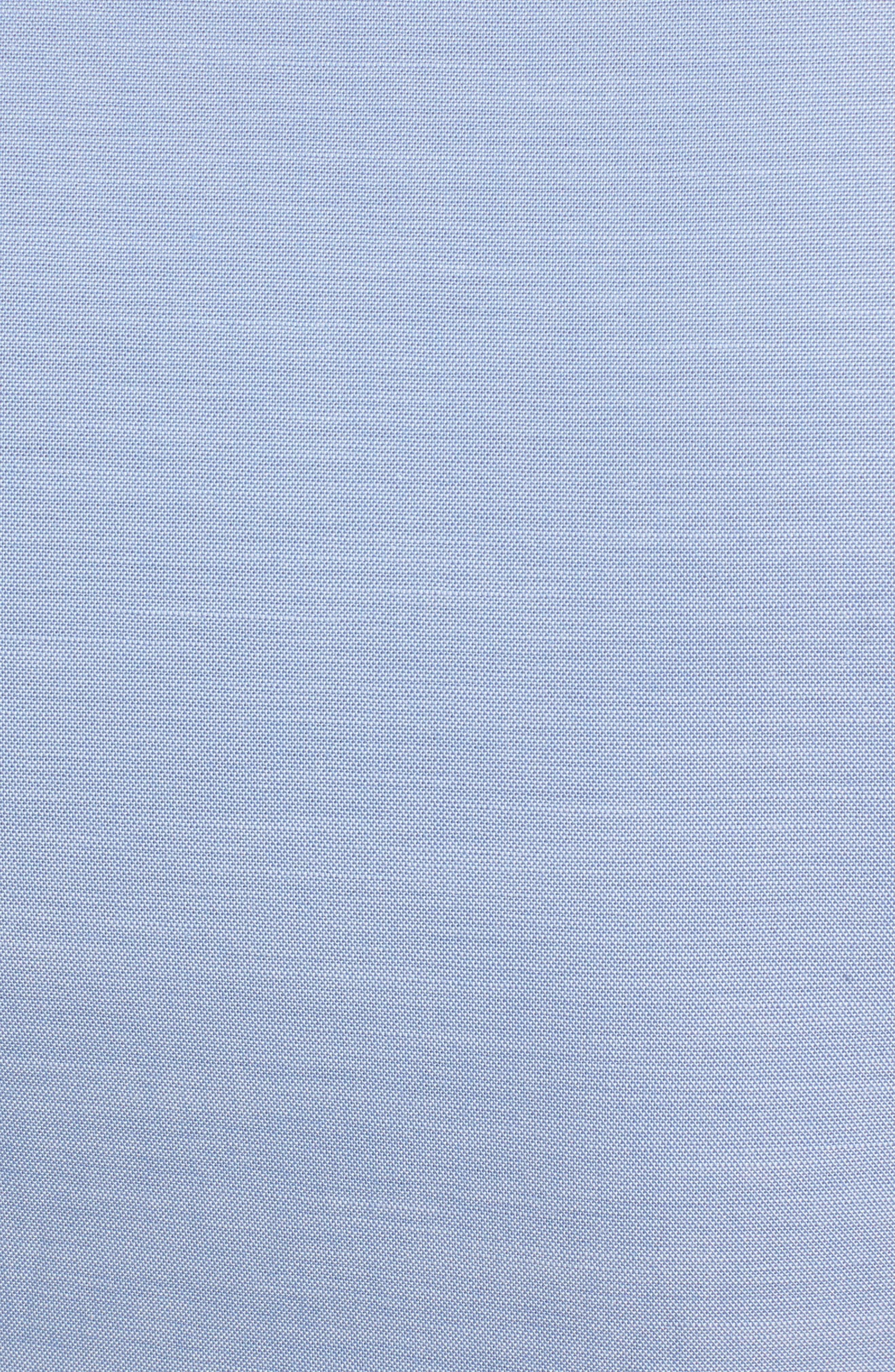 Cotton Chambray Sleeveless Top,                             Alternate thumbnail 5, color,
