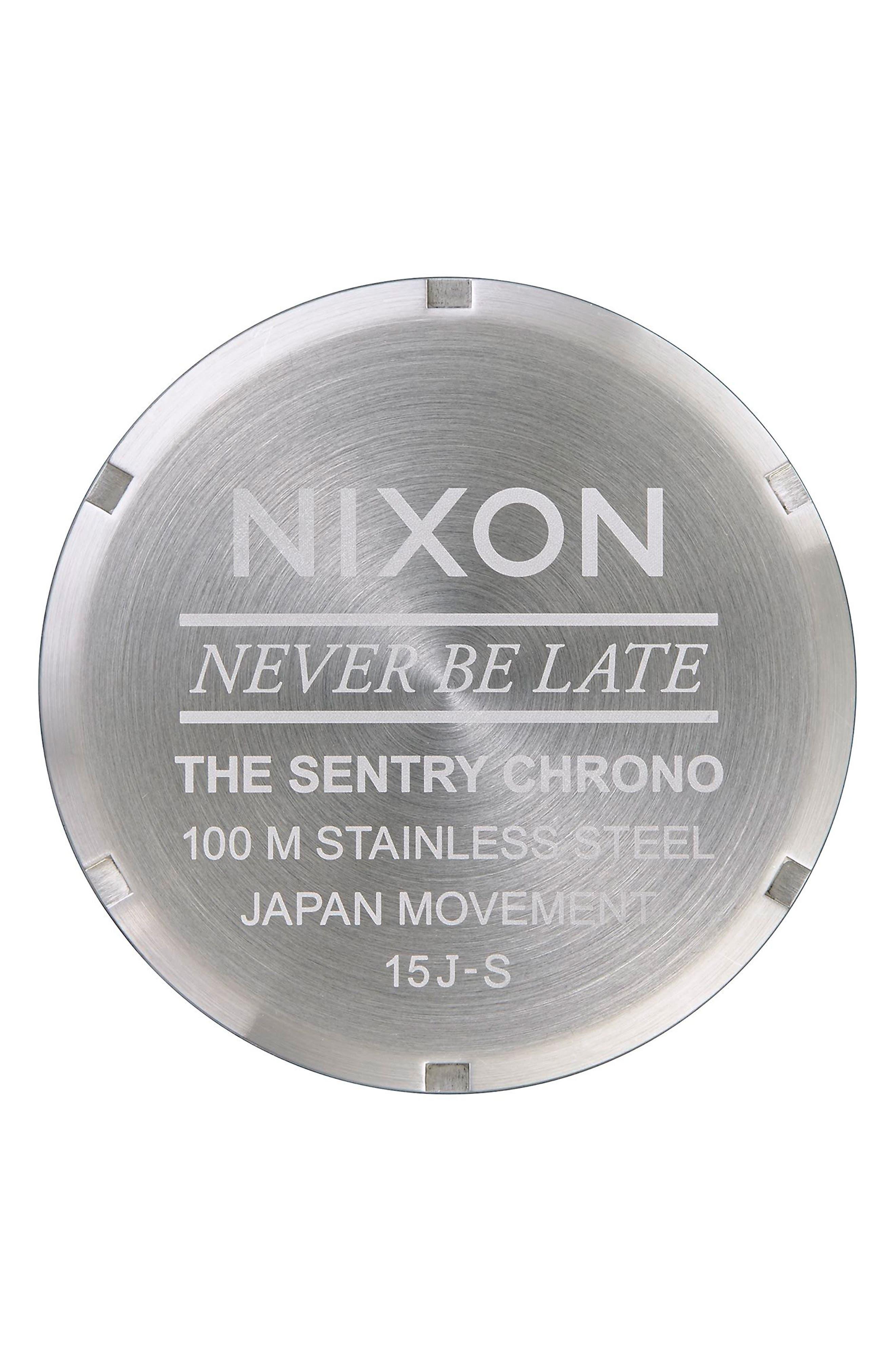 'The Sentry' Chronograph Bracelet Watch, 42mm,                             Alternate thumbnail 38, color,
