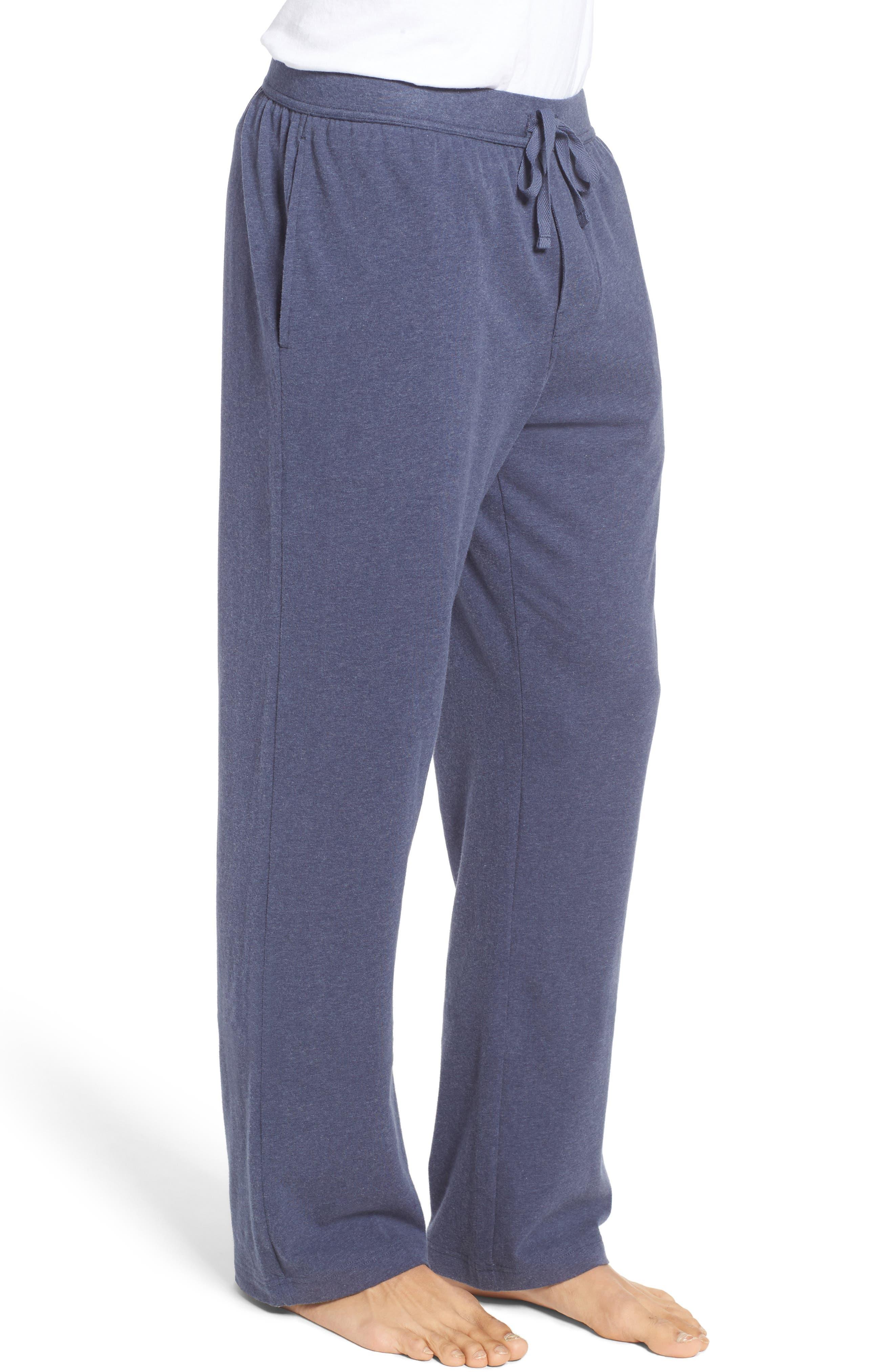 Stretch Cotton Lounge Pants,                             Alternate thumbnail 6, color,