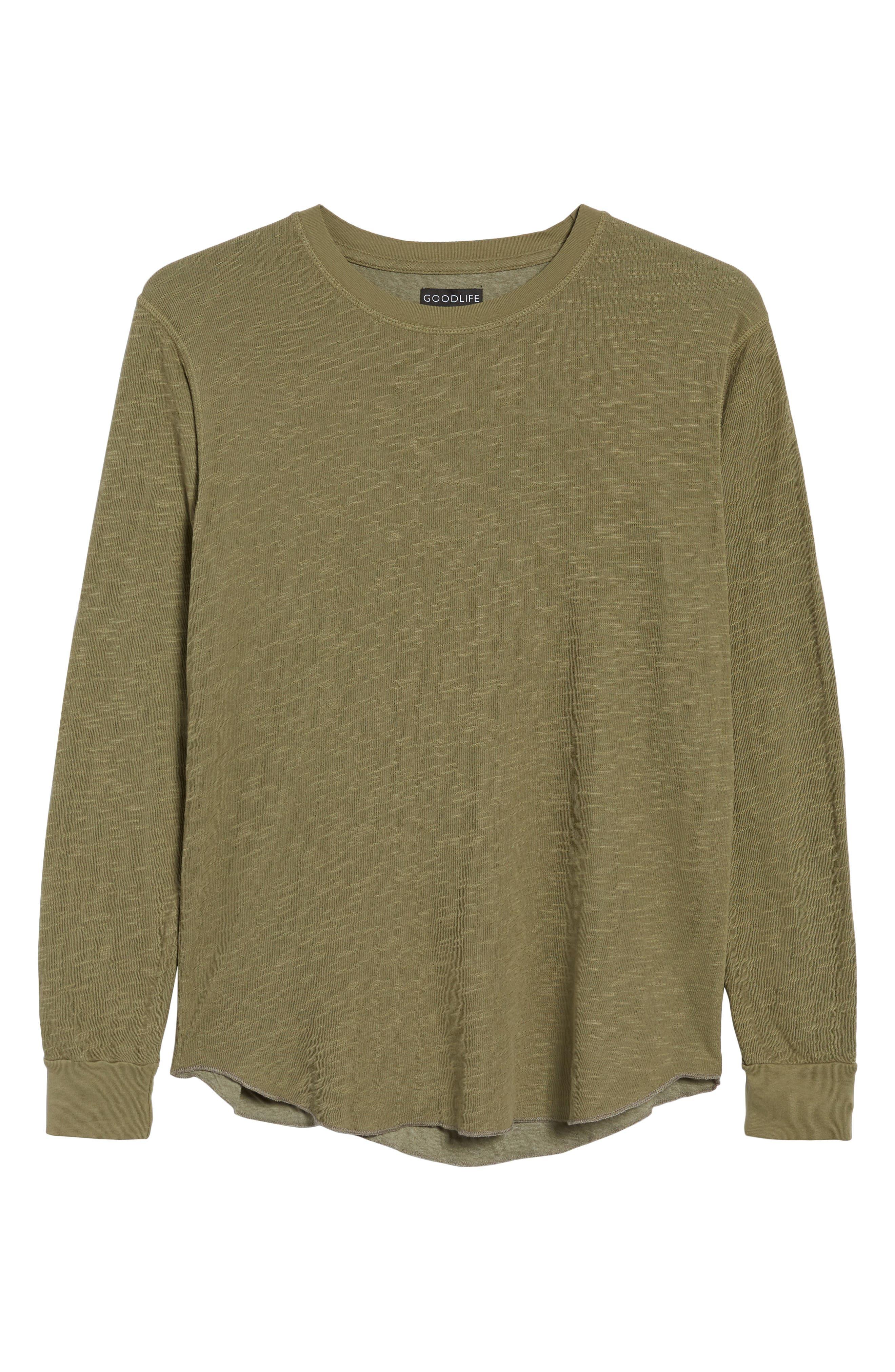 Double Layer Slim Crewneck T-Shirt,                             Alternate thumbnail 40, color,