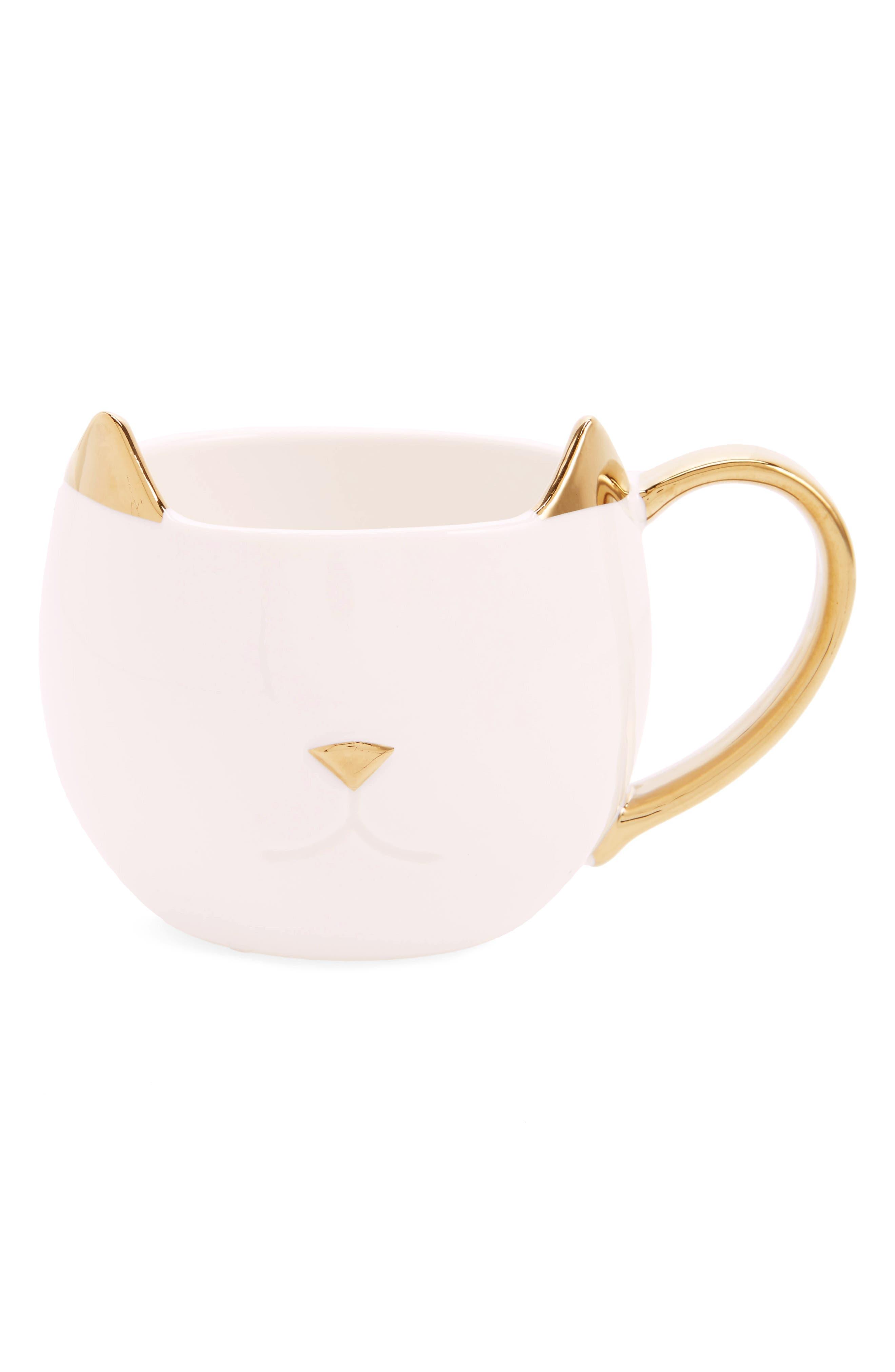 Chloe Cat Ceramic Mug,                             Main thumbnail 3, color,