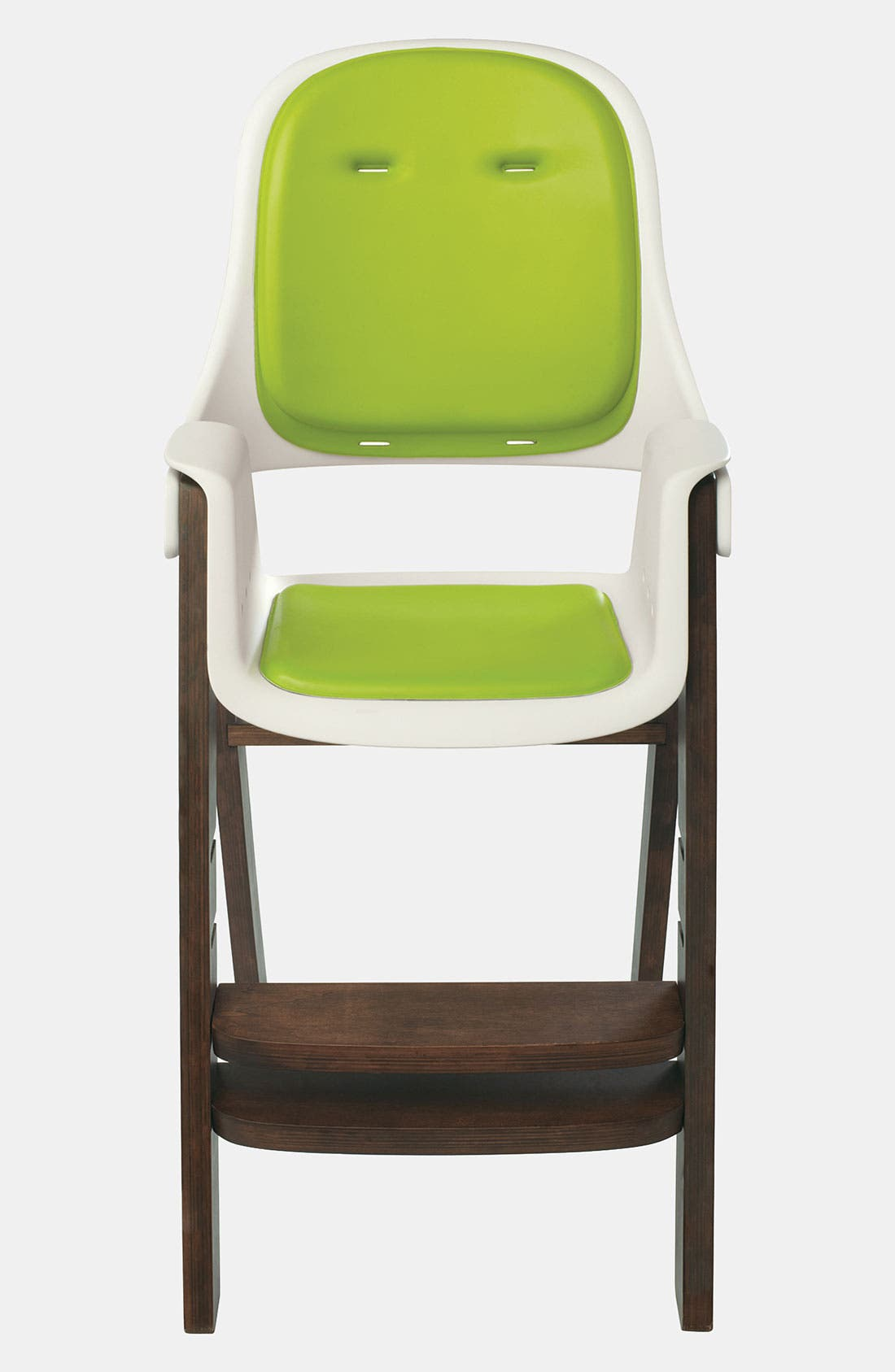 'Sprout' Chair,                             Alternate thumbnail 4, color,                             GREEN/ WALNUT