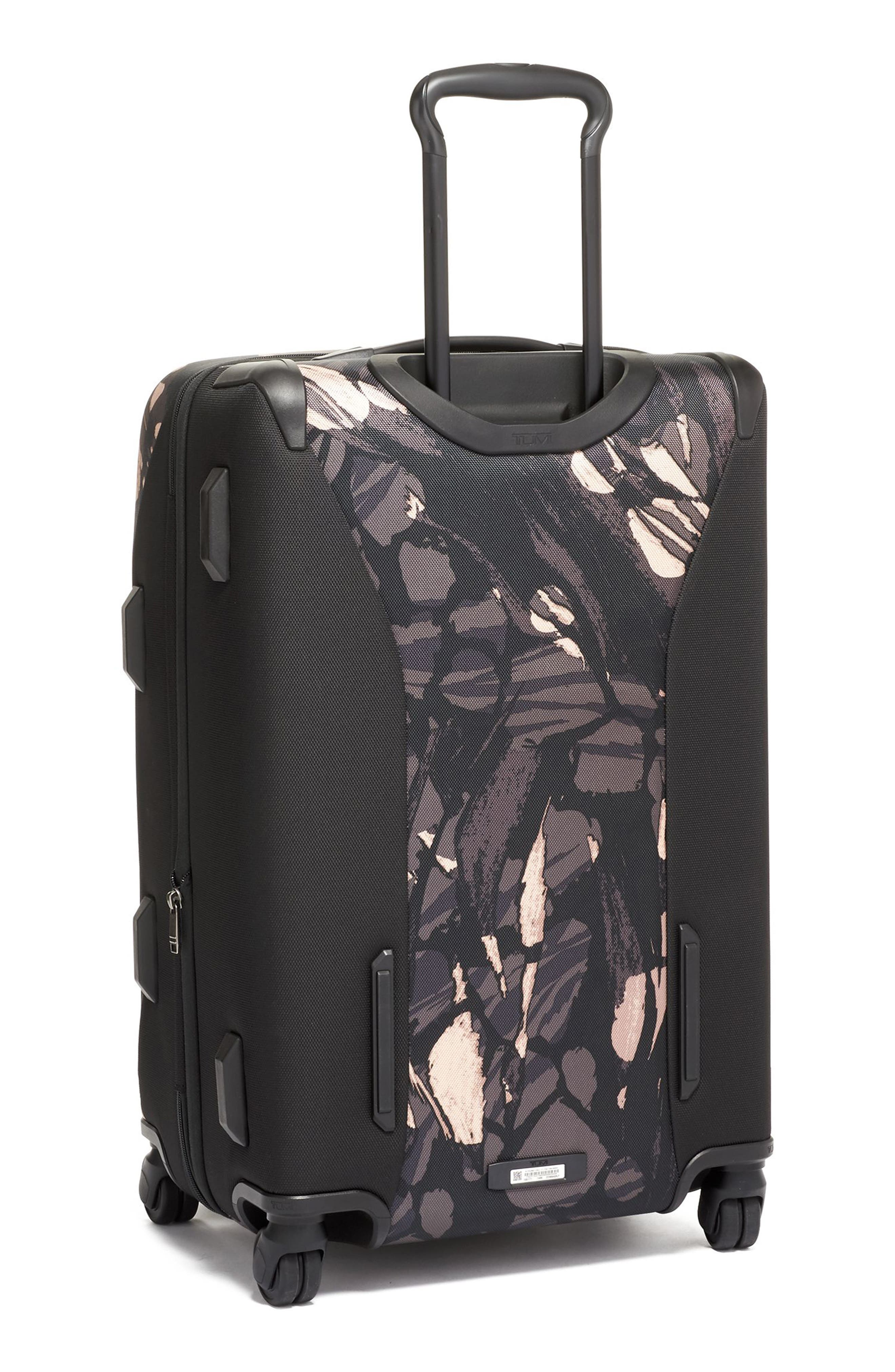 Merge Short Trip Expandable Rolling Packing Case,                             Alternate thumbnail 4, color,                             GREY HIGHLANDS PRINT