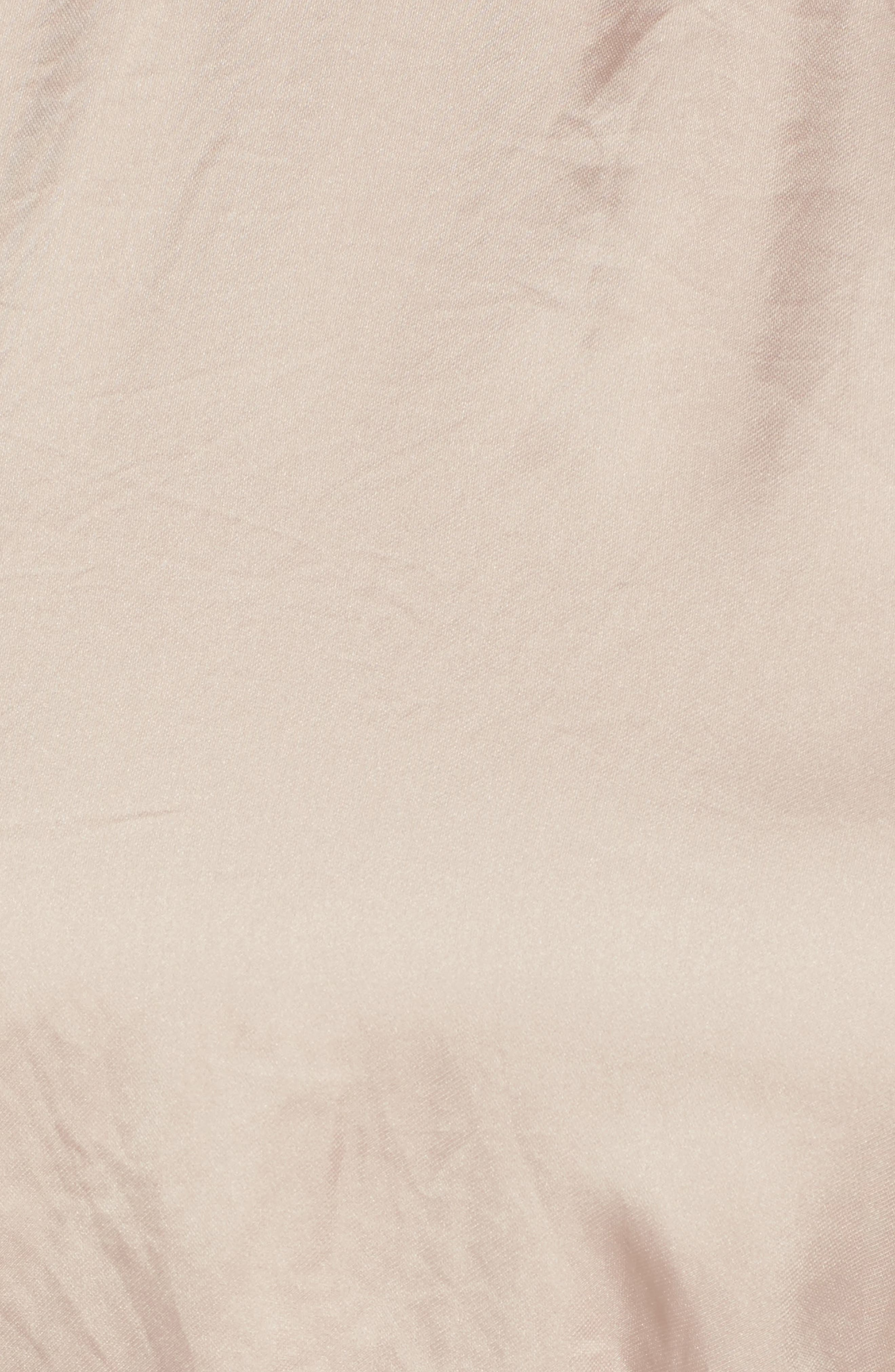 Satin Midi Dress,                             Alternate thumbnail 5, color,                             663