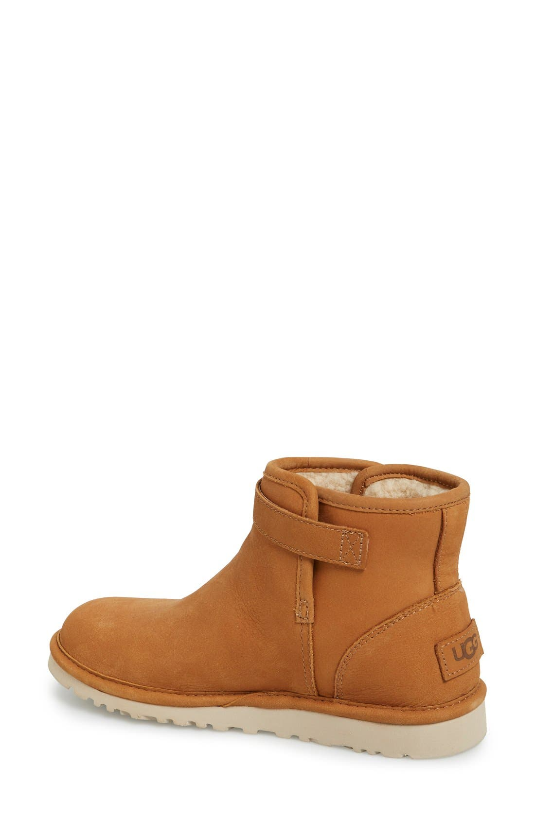 'Rella' Leather Ankle Boot,                             Alternate thumbnail 2, color,                             219