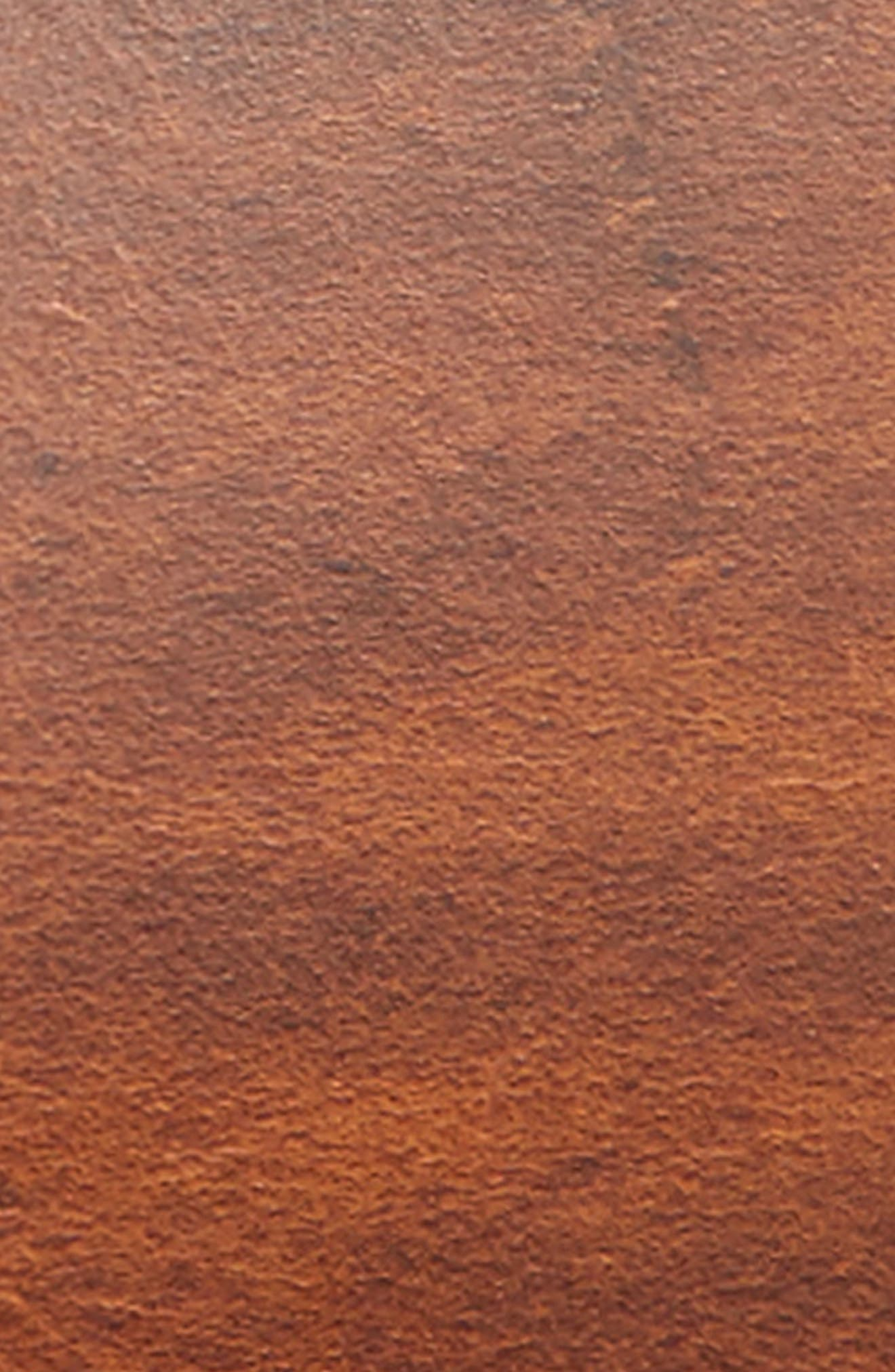 Waxed Leather Belt,                             Alternate thumbnail 2, color,                             205