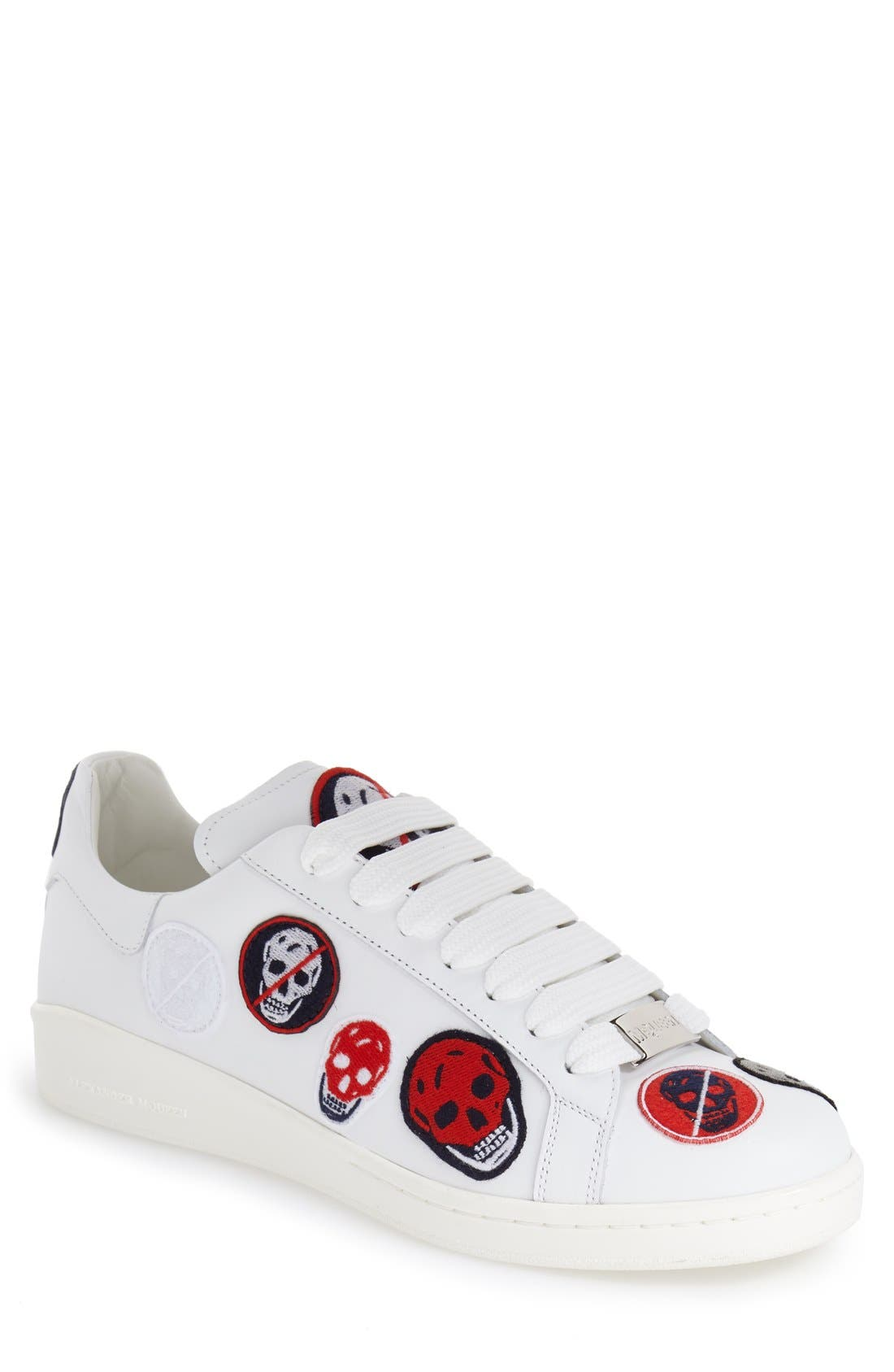 'Skull Patch' Sneaker, Main, color, 104