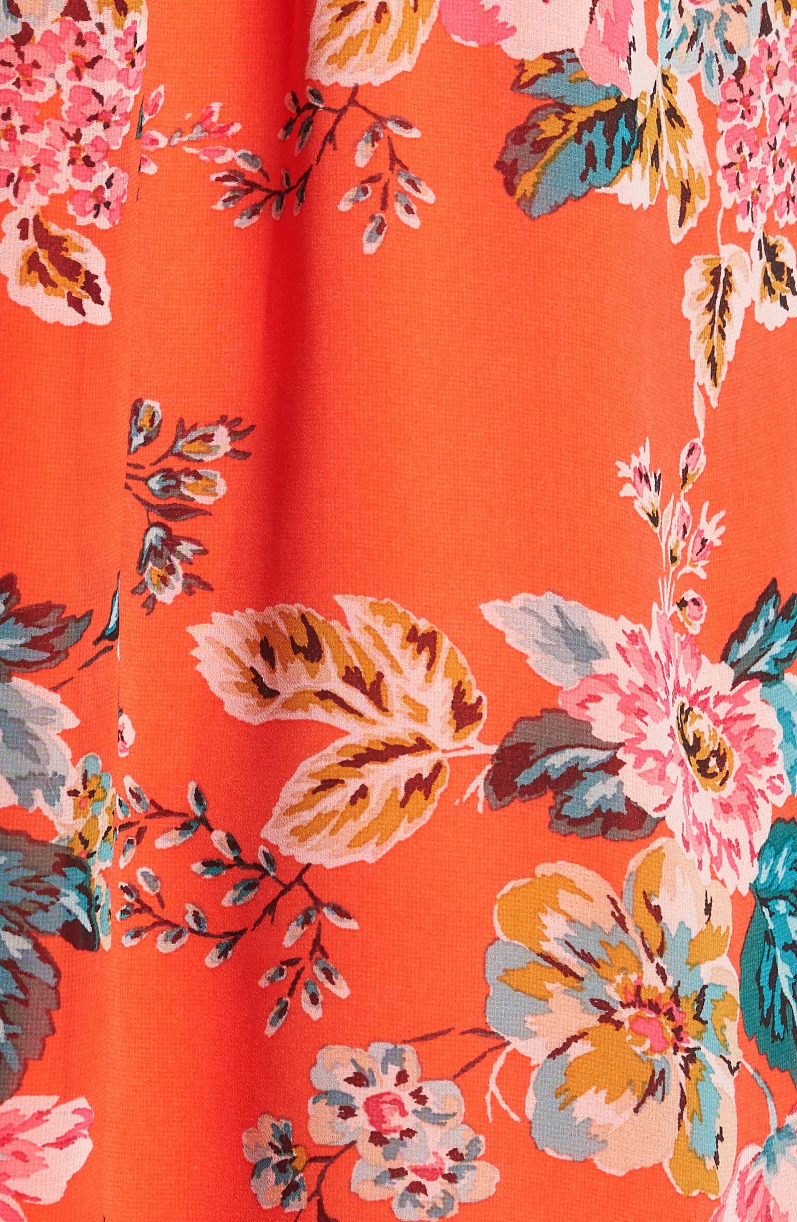 SPEECHLESS,                             Crochet Swing Dress,                             Alternate thumbnail 7, color,                             800