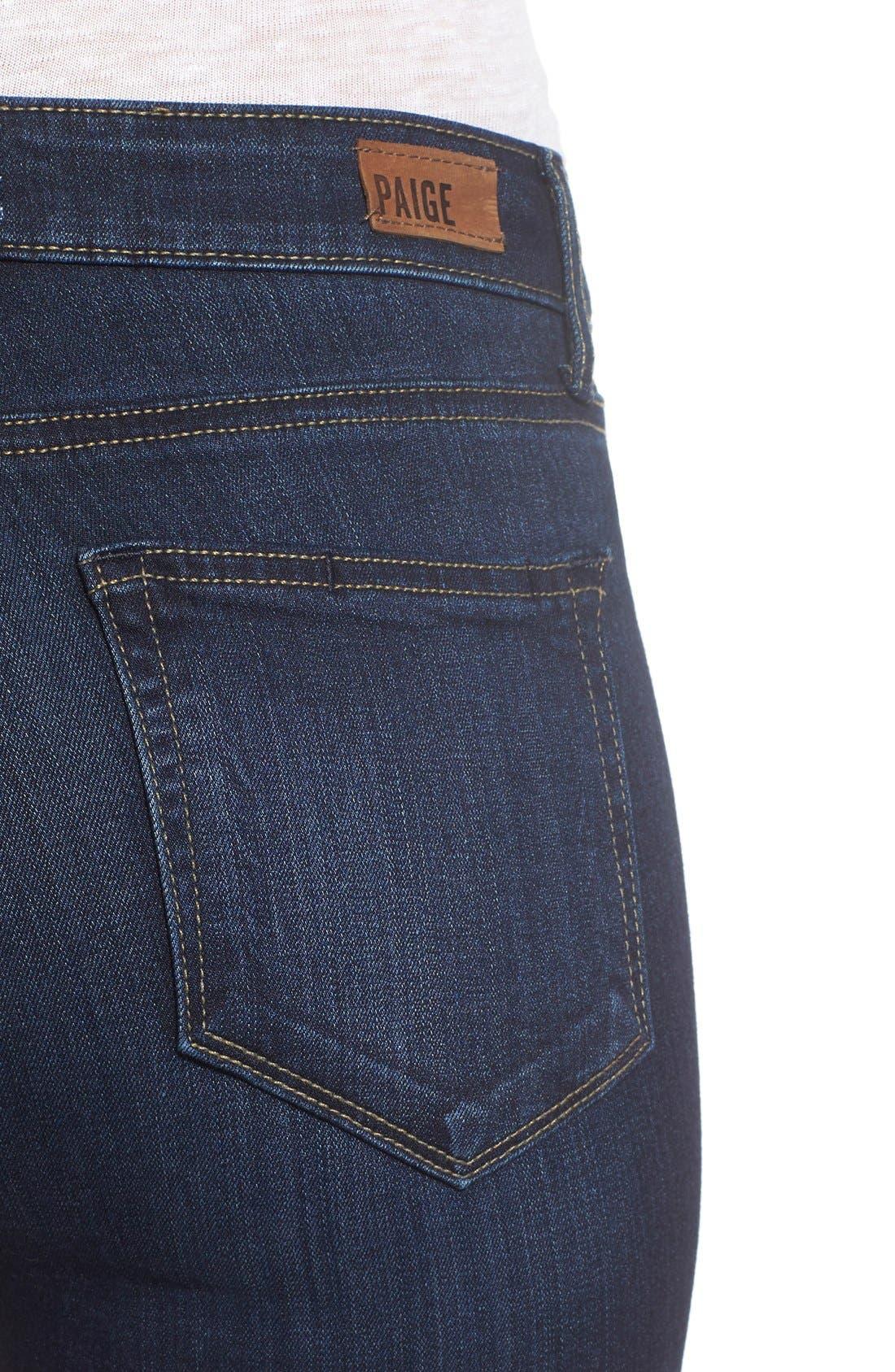 Transcend - Hoxton High Waist Ankle Ultra Skinny Jeans,                             Alternate thumbnail 2, color,                             HARTMANN