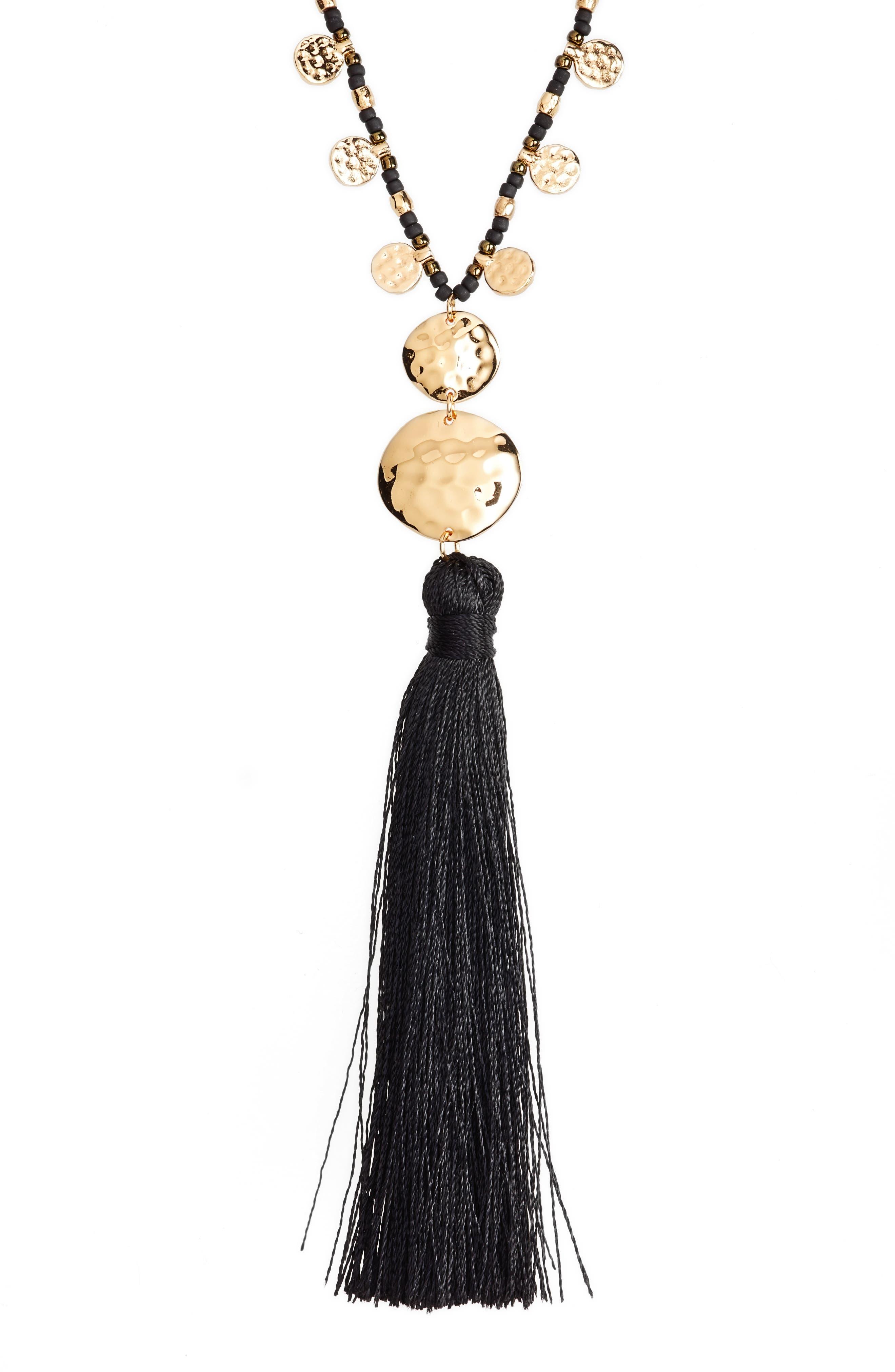 Leucadia Tassel Y-Necklace,                         Main,                         color, 005