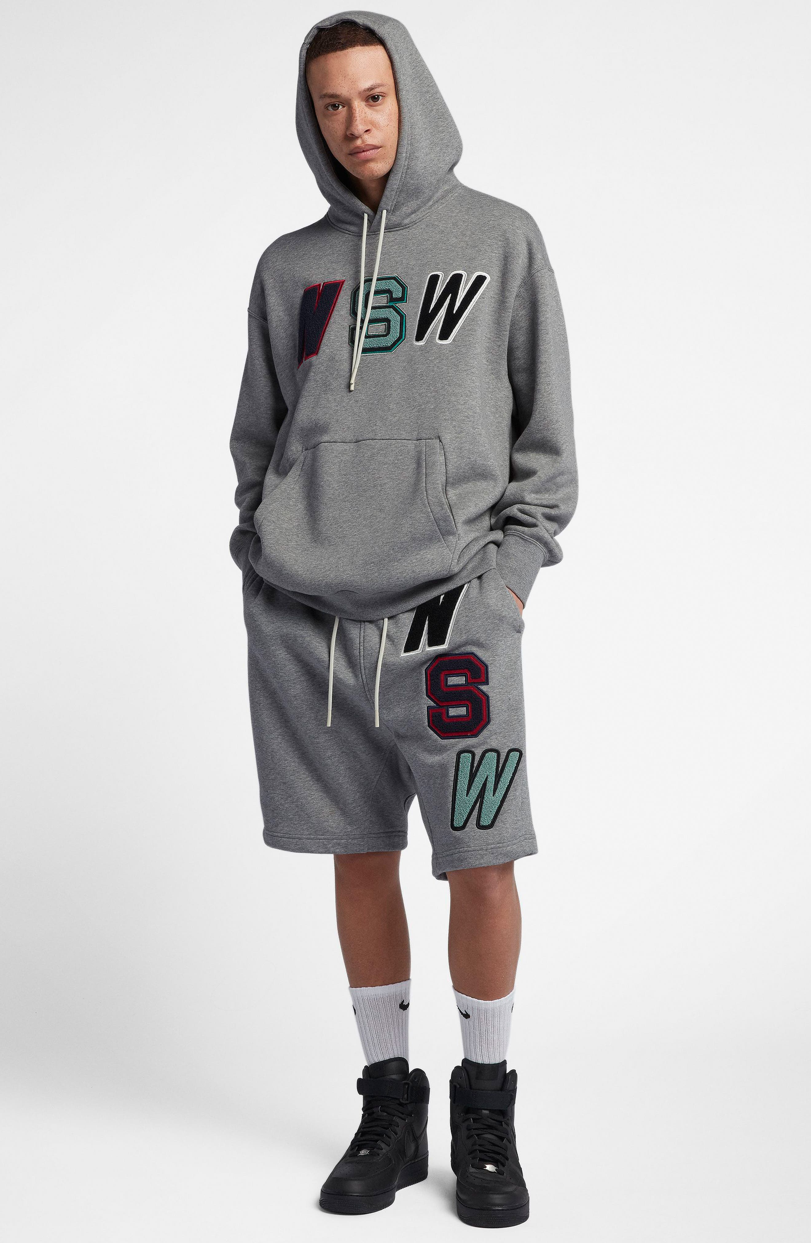 NSW Hoodie,                             Alternate thumbnail 5, color,                             CARBON HEATHER