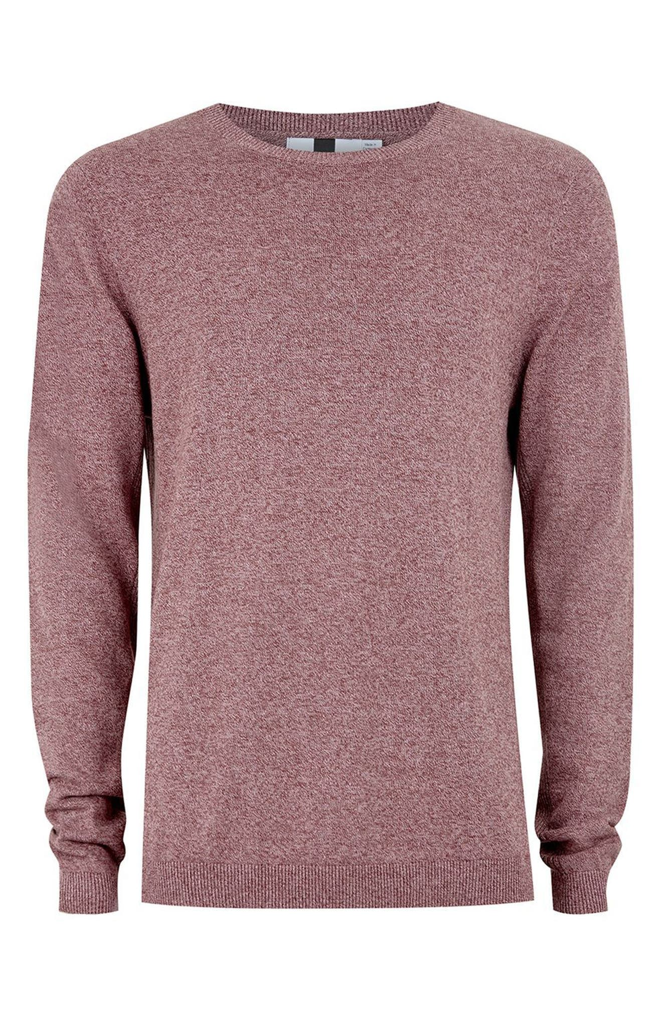 Side Ribbed Slim Fit Sweater,                             Alternate thumbnail 30, color,