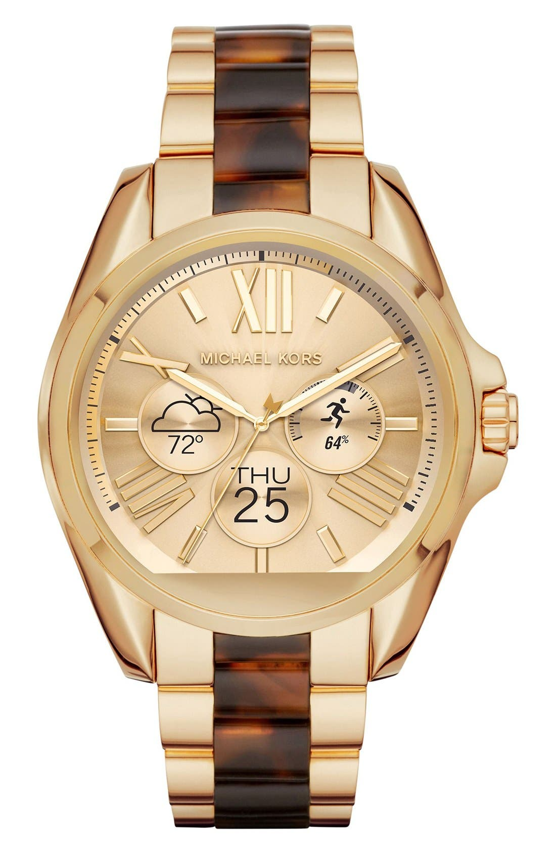 MICHAEL Michael Kors Bradshaw Access Bracelet Smart Watch, 45mm,                             Alternate thumbnail 62, color,