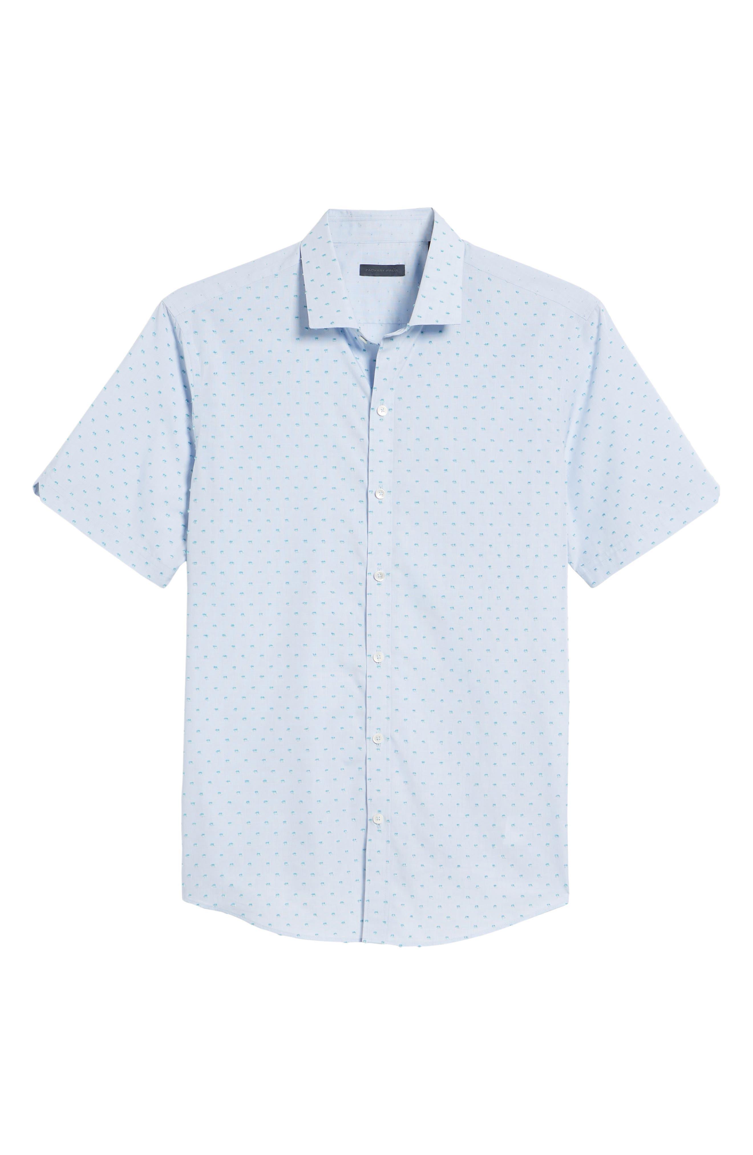 Dolle Fil a Coupe Sport Shirt,                             Alternate thumbnail 6, color,                             450