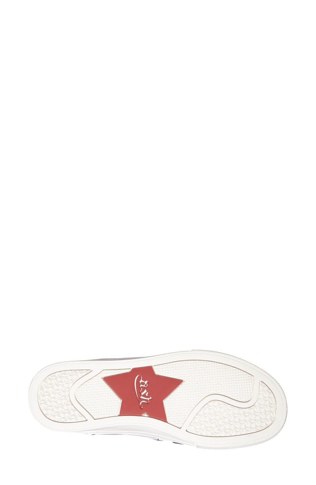 'Joe' Platform Sneaker,                             Alternate thumbnail 3, color,                             001