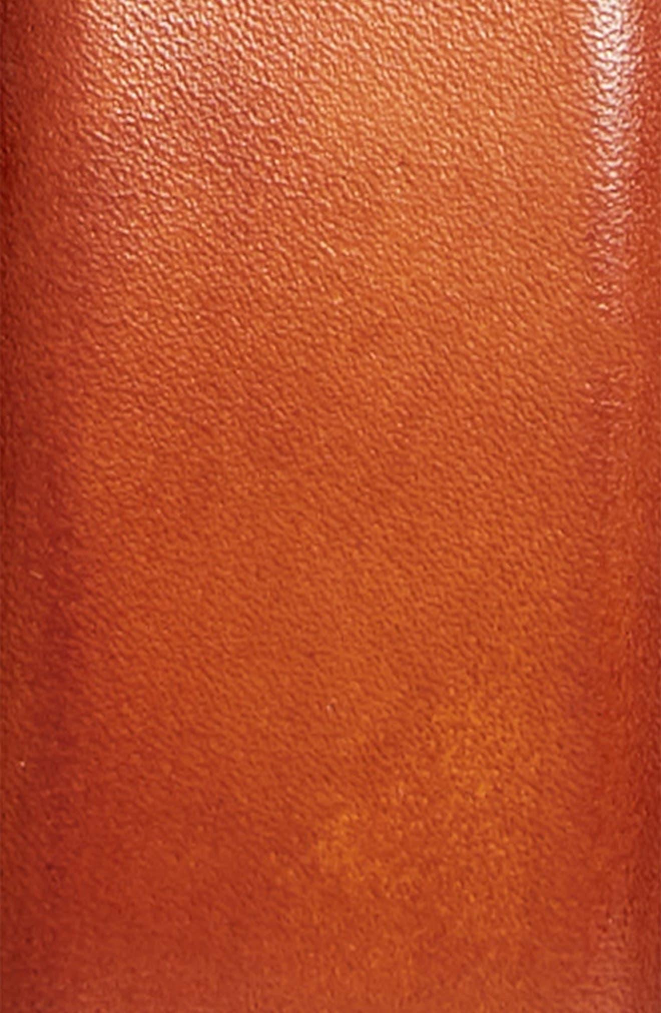 Catalux Leather Belt,                             Alternate thumbnail 2, color,                             COGNAC