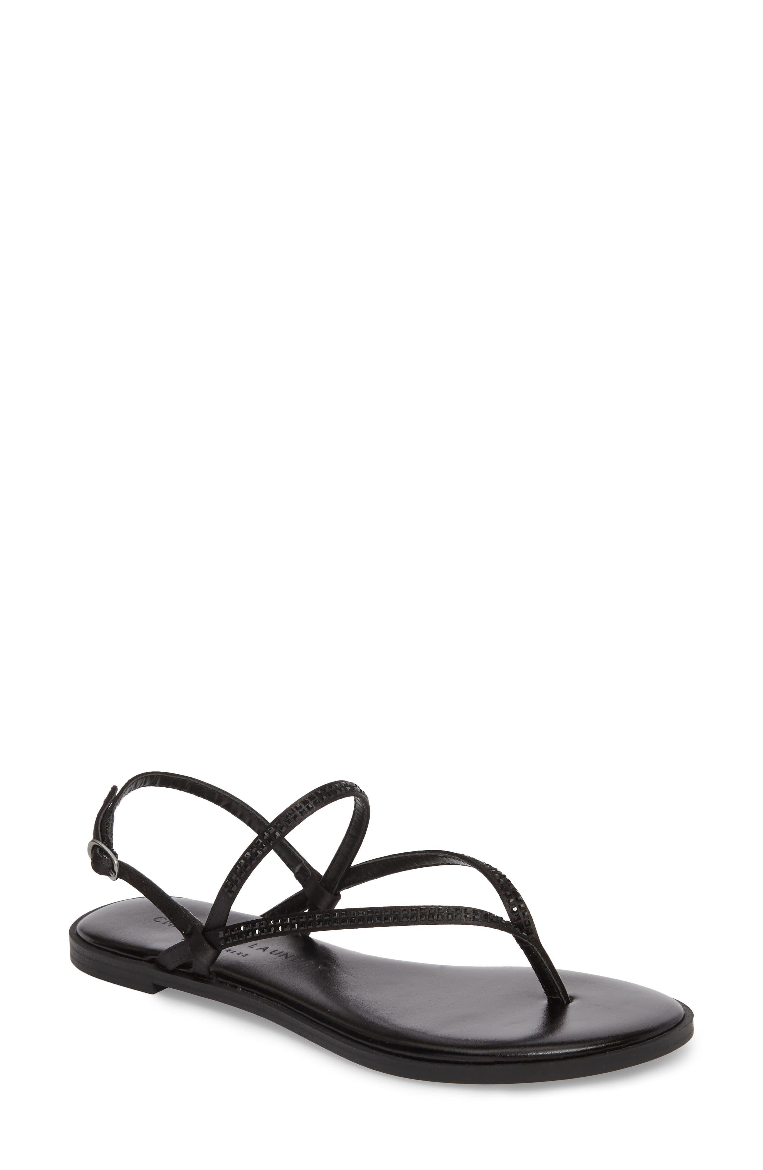 Gwendela Sandal,                         Main,                         color, BLACK
