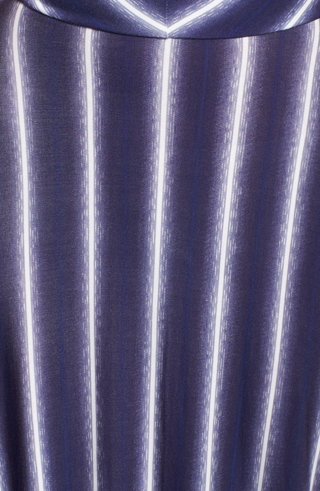 Stripe Scoop Neck Maxi Dress,                             Alternate thumbnail 3, color,                             429